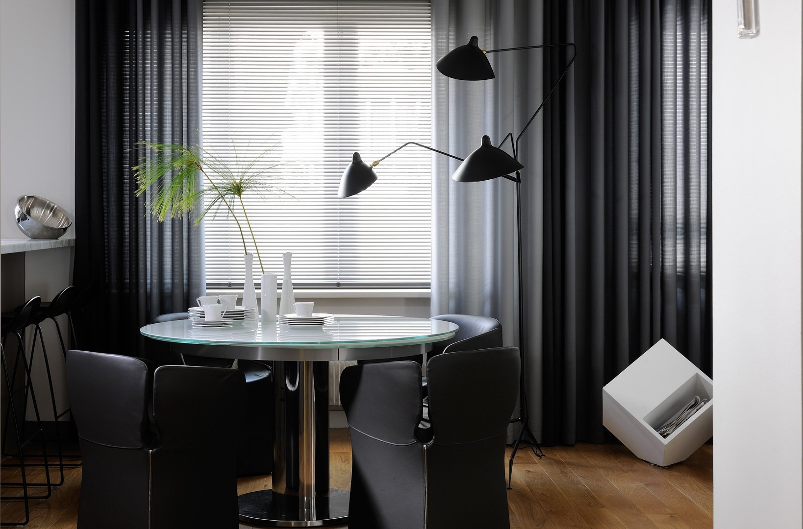 L3b lampadaire by editions serge mouille design serge mouille - Lampadaire serge mouille ...