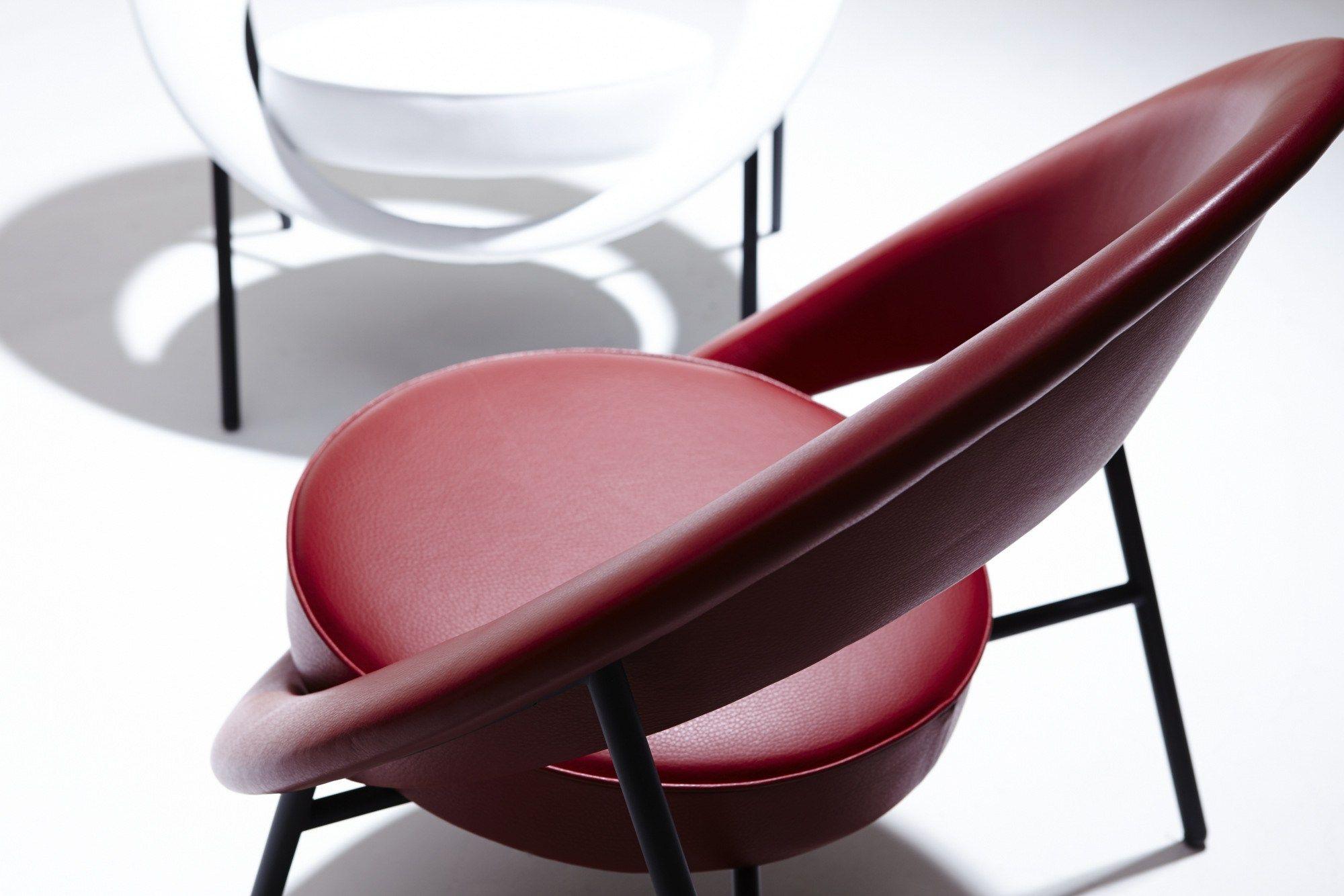 44 petit fauteuil en cuir by burov design dangles defrance - Petit fauteuil en cuir ...