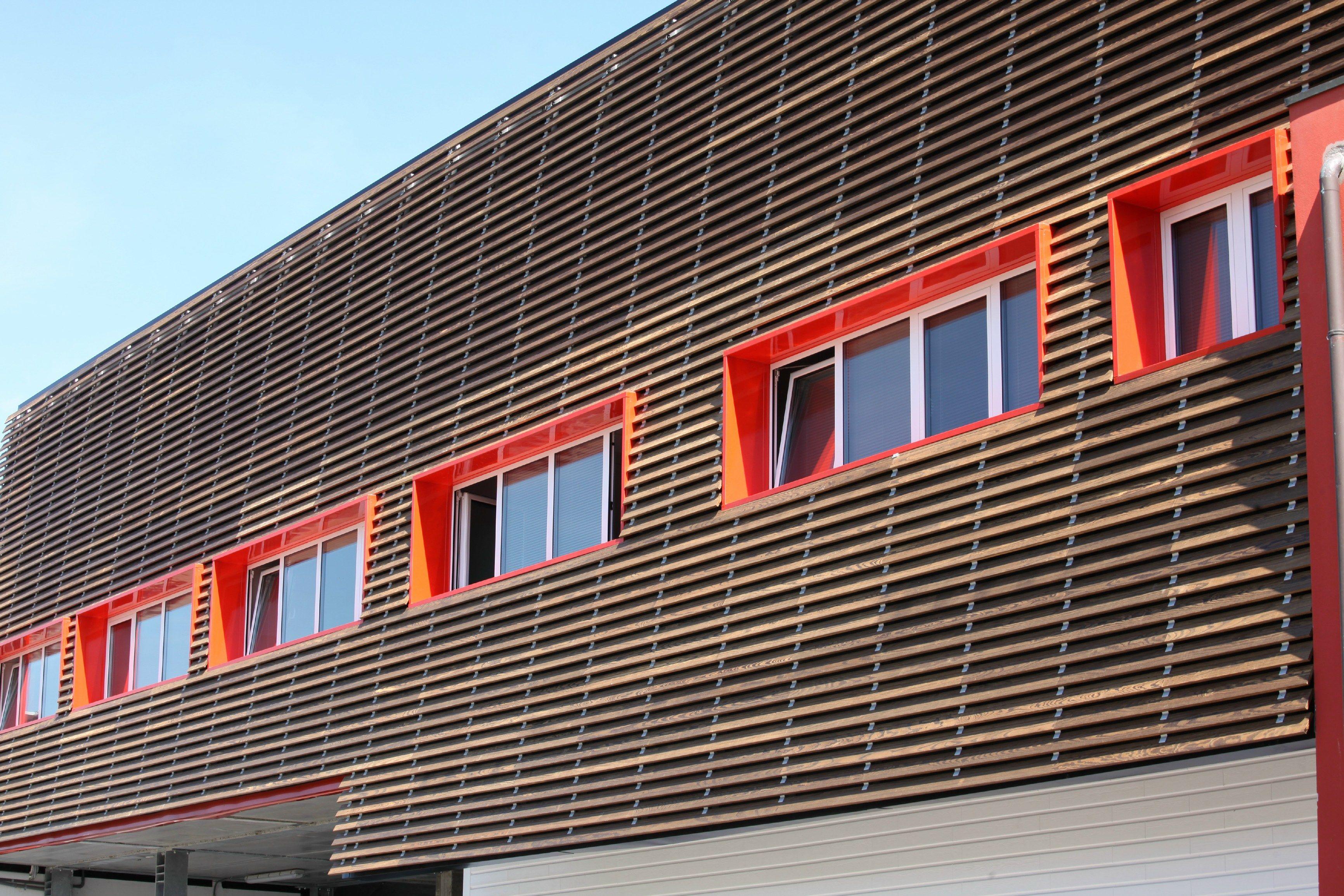 panneau de bois pour fa ade brise soleil 4sun by ravaioli legnami. Black Bedroom Furniture Sets. Home Design Ideas