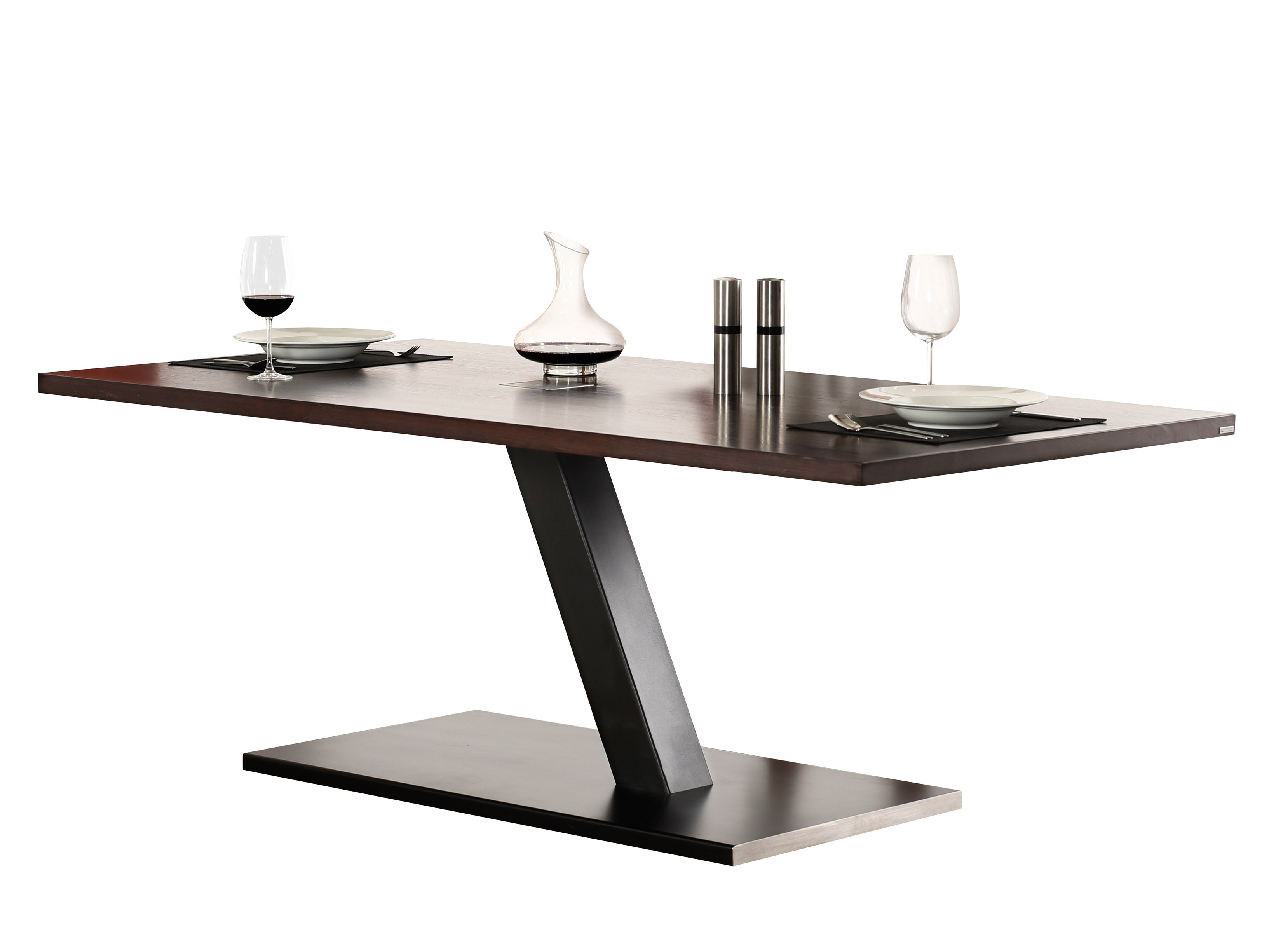 609 dining table by wissmann raumobjekte. Black Bedroom Furniture Sets. Home Design Ideas