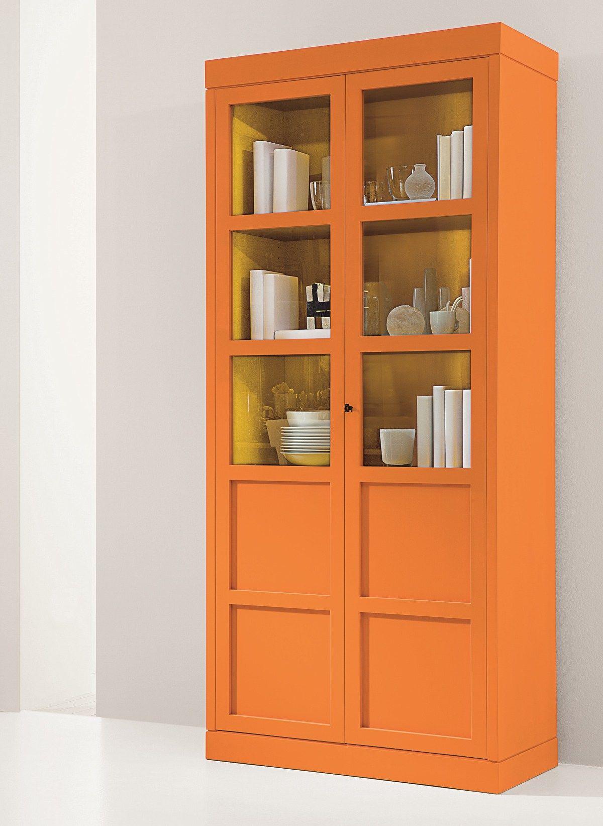 vetrina laccata in legno e vetro 6338 1 by marktex. Black Bedroom Furniture Sets. Home Design Ideas