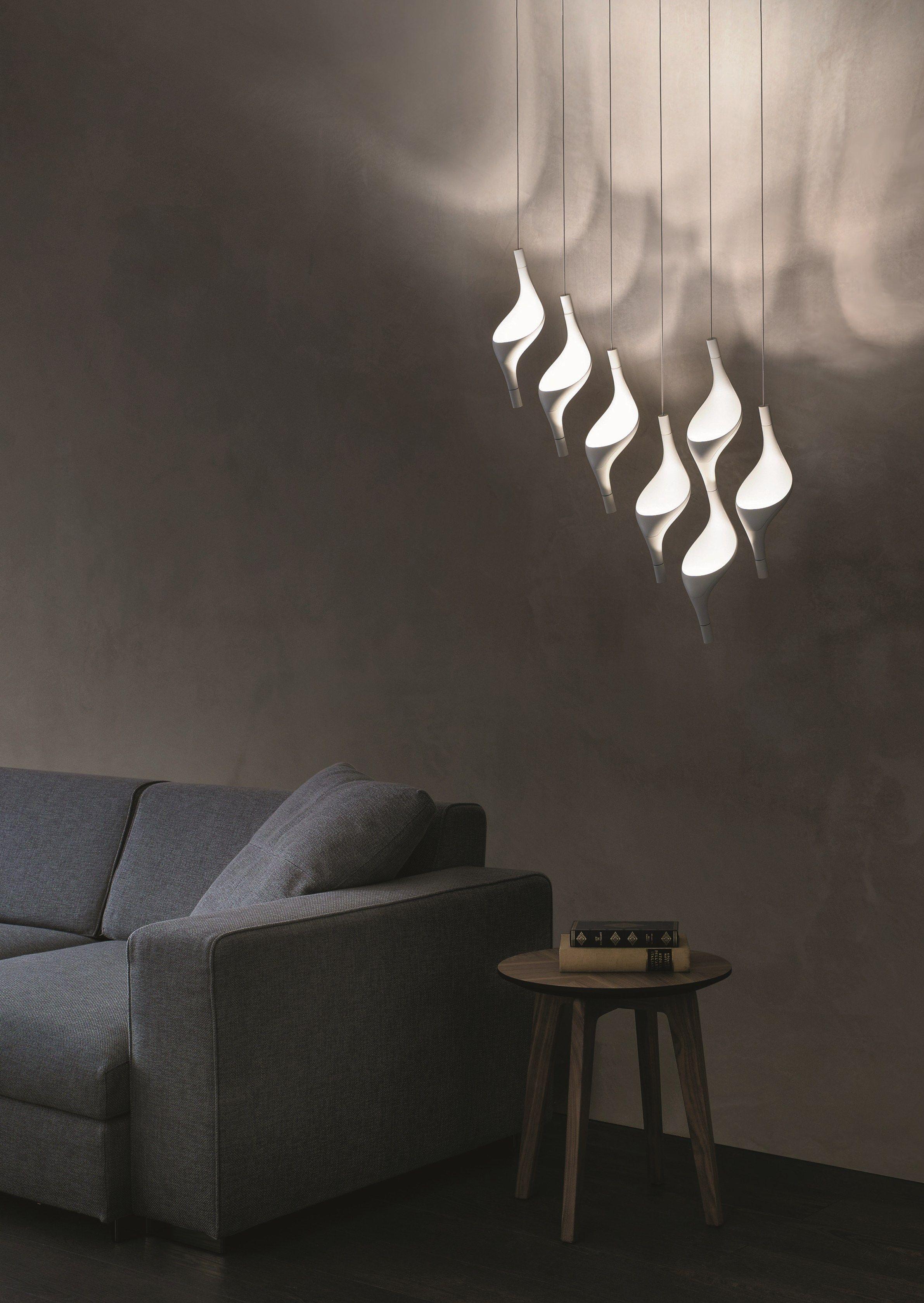 led pendant lamp acqua by cini nils design luta bettonica. Black Bedroom Furniture Sets. Home Design Ideas