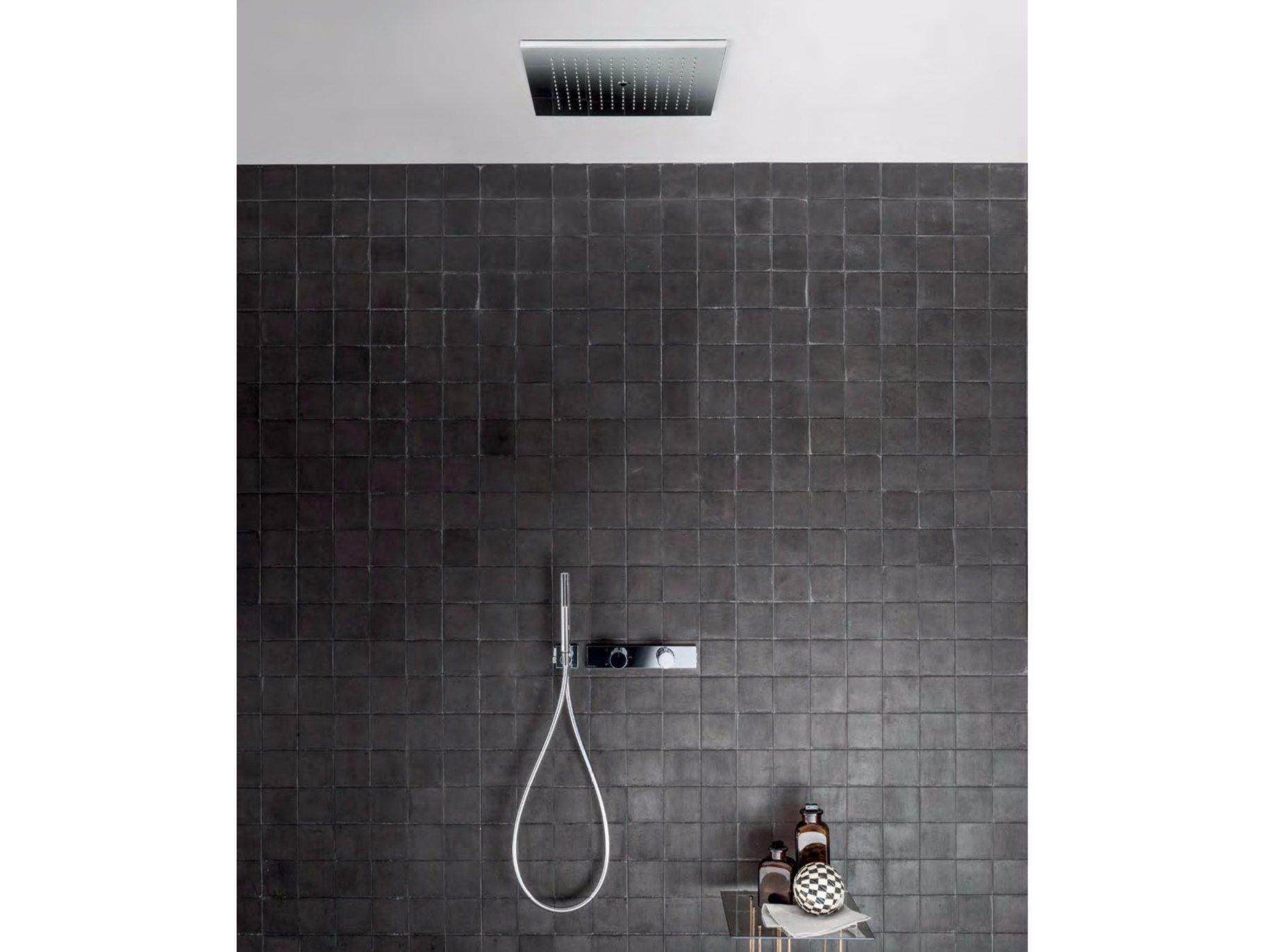 Acquadolce colonna doccia da incasso by fantini rubinetti - Soffione doccia incasso ...