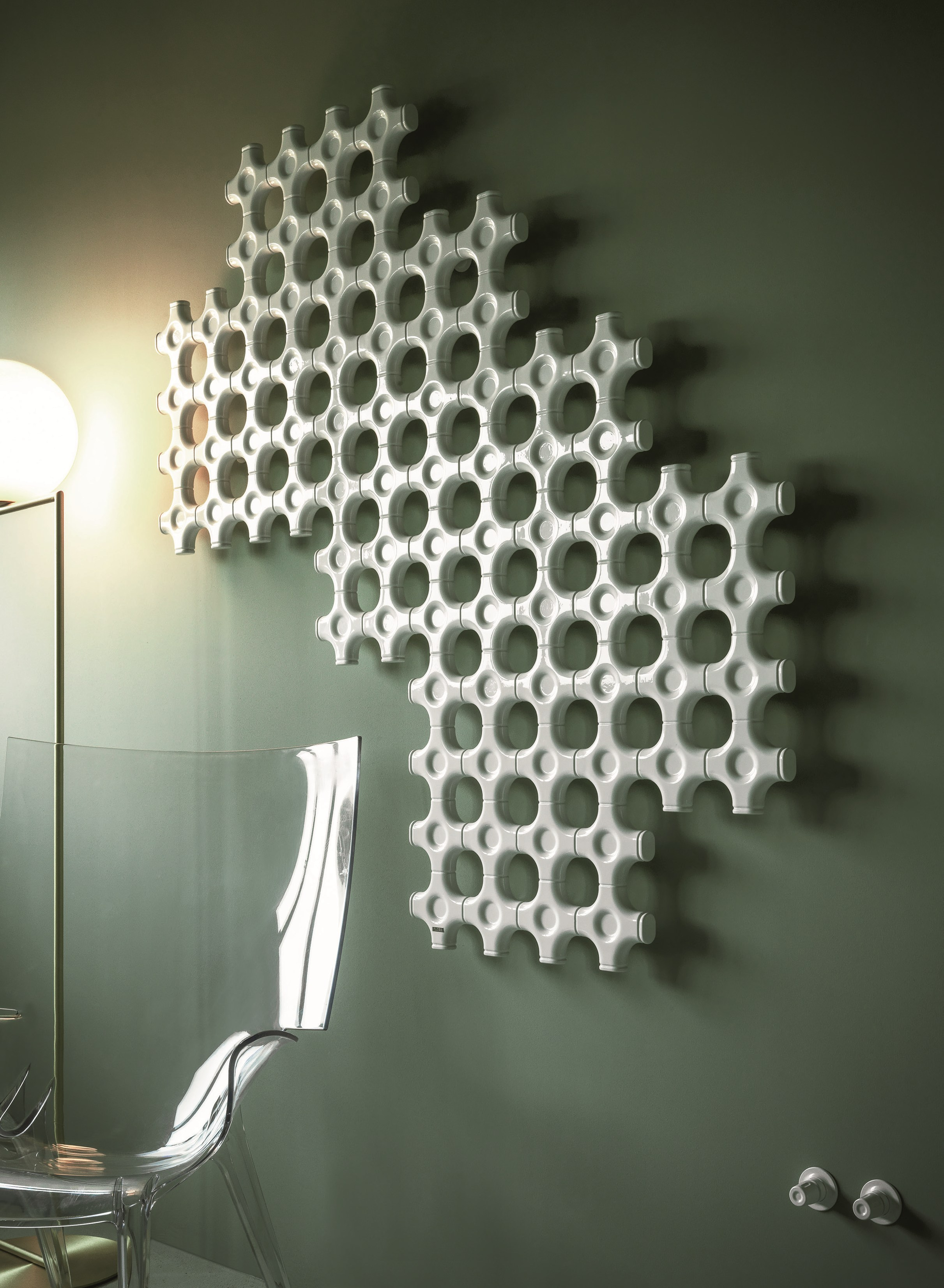 Add on radiador decorativo by tubes radiatori diseño satyendra pakhalé