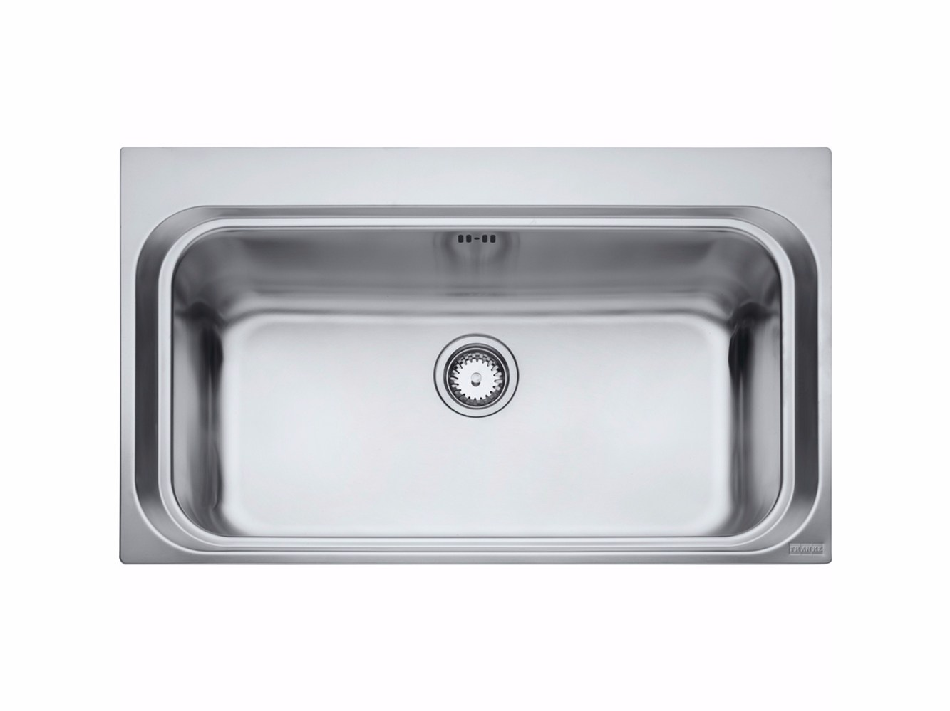 Lavello a una vasca da incasso in acciaio inox aex 610 by - Lavandino cucina una vasca ...