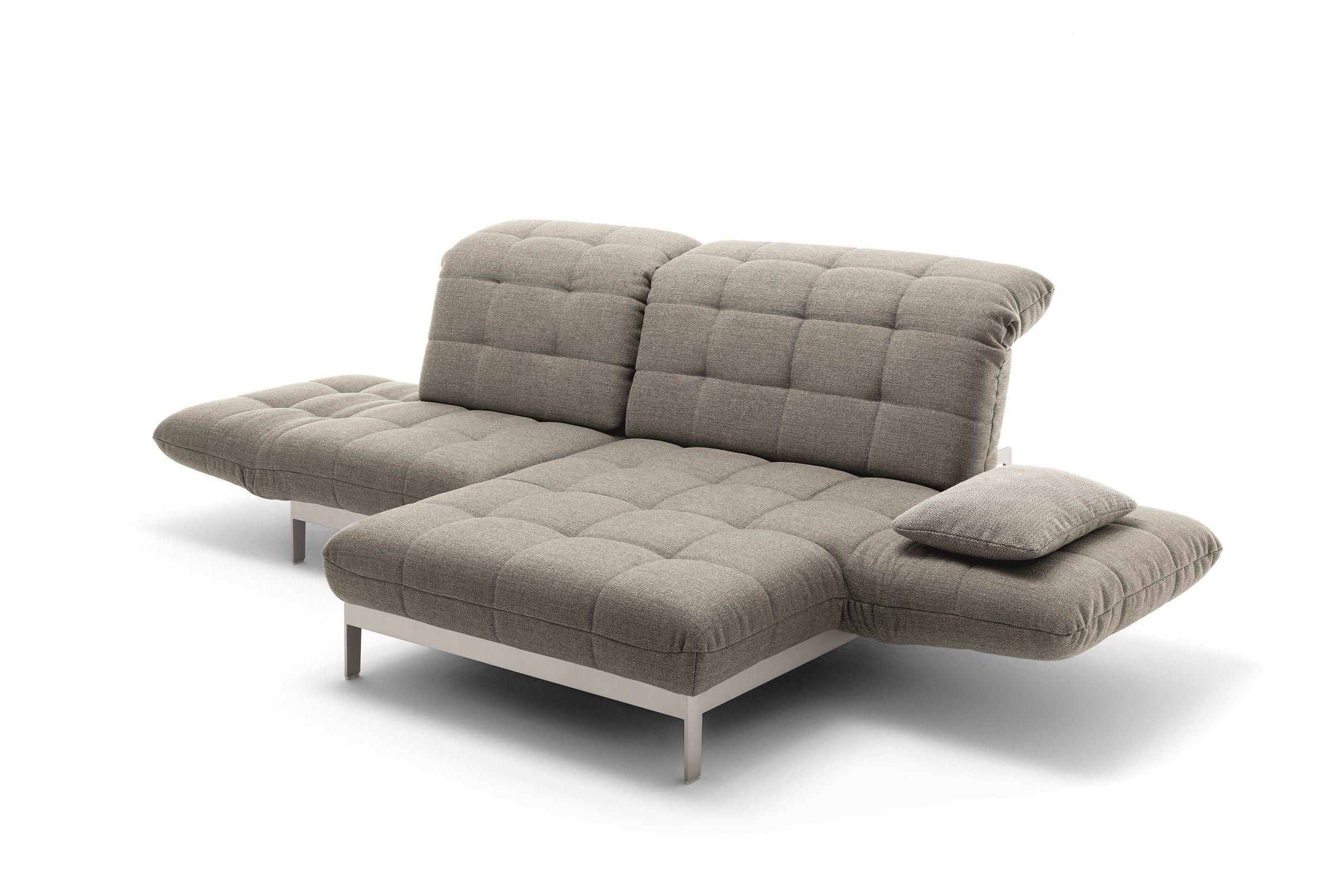 Agio Divano Con Chaise Longue By Rolf Benz Design Norbert Beck
