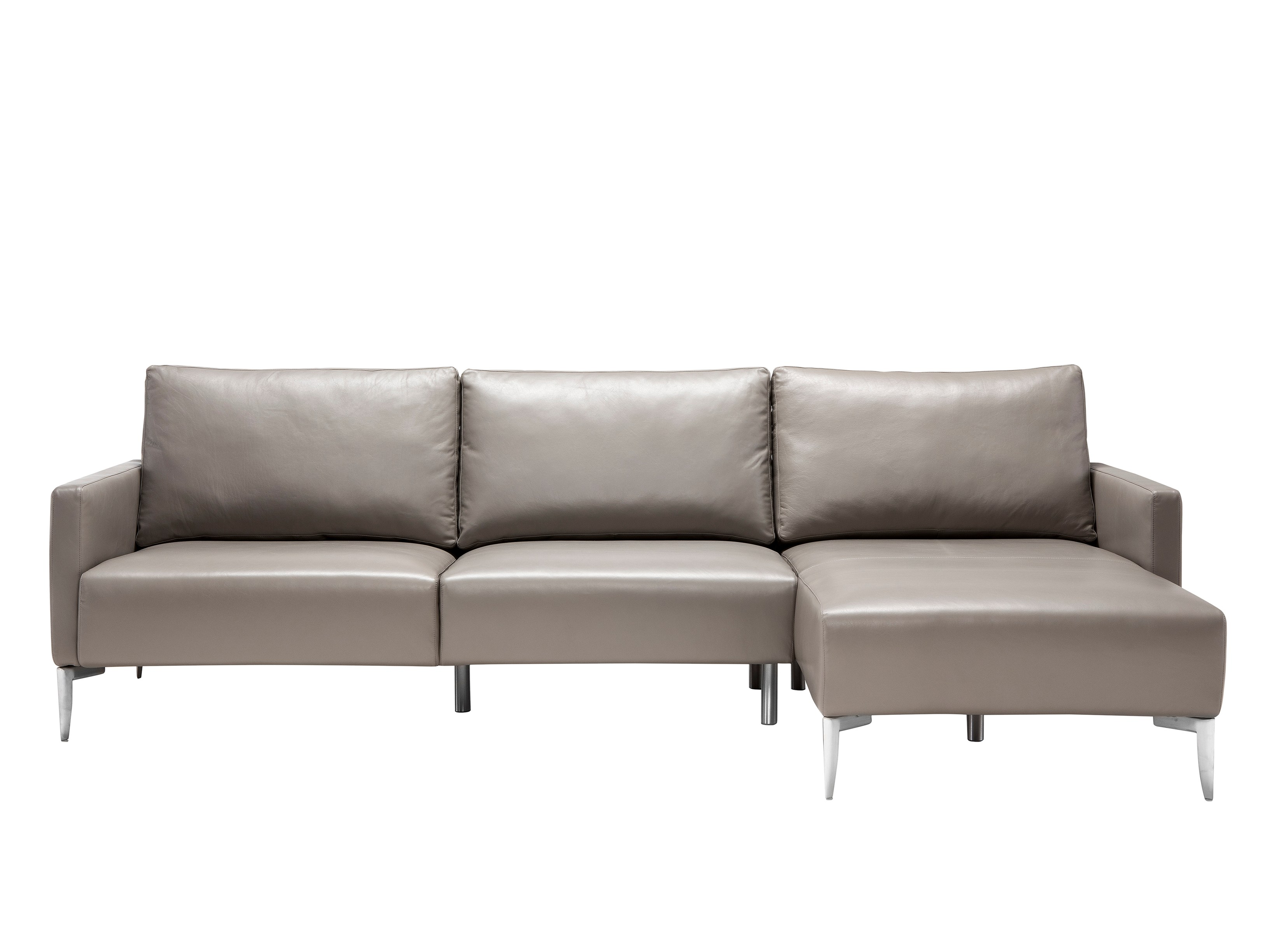 sofa with chaise longue amalfi by amura design arco