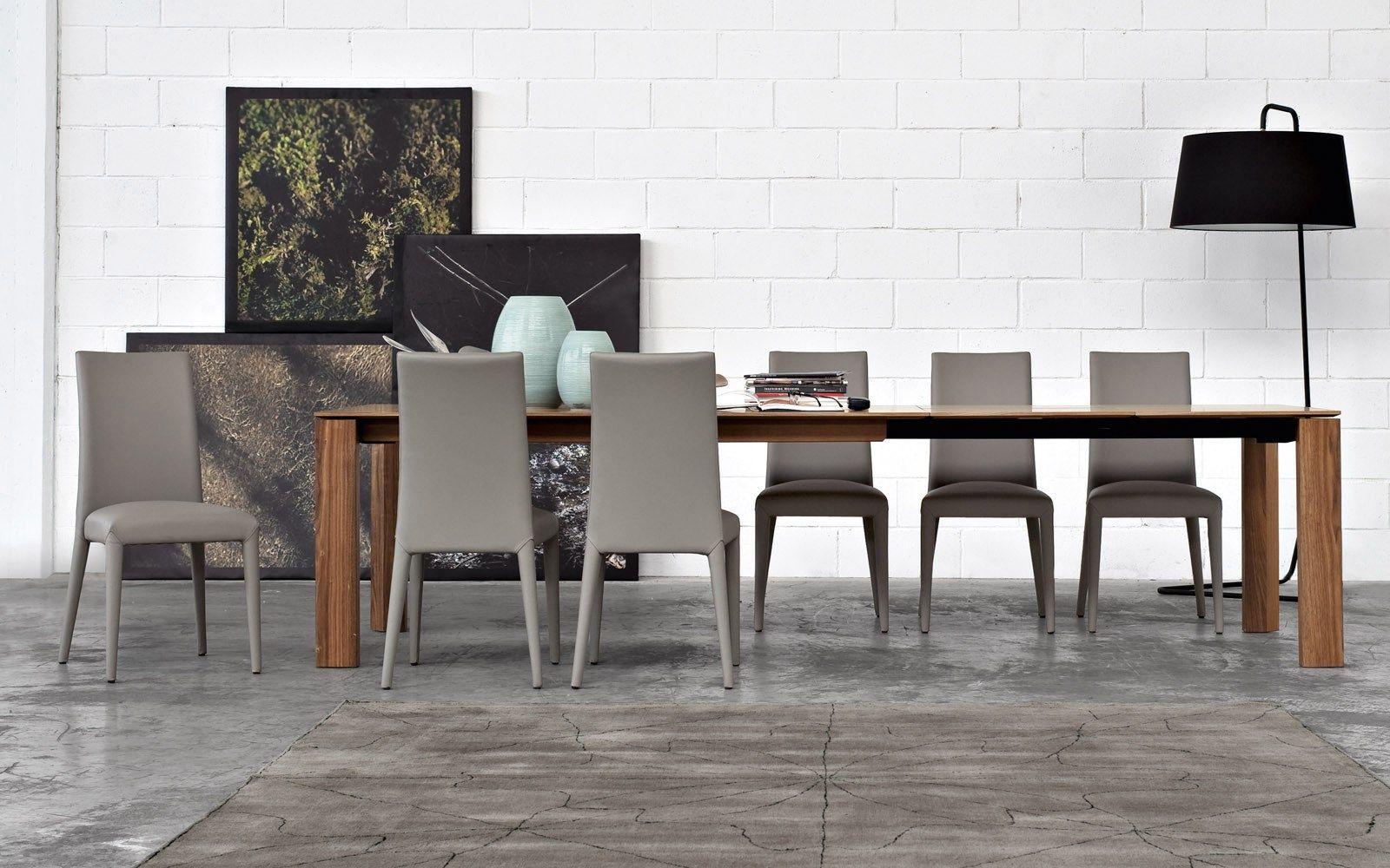 Anais by calligaris design edi e paolo ciani design for Table design xxl