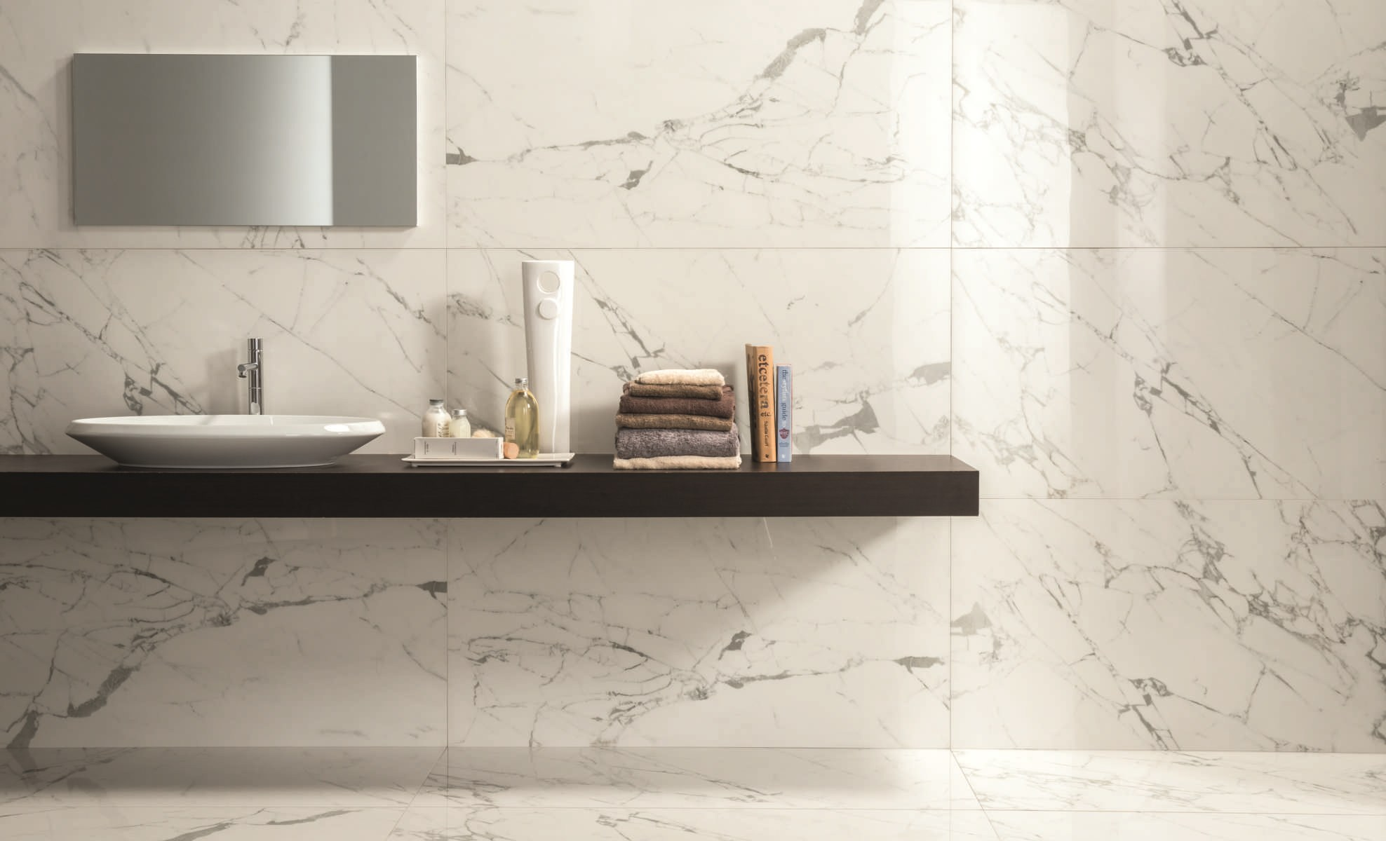 Porcelain Stoneware Wall Floor Tiles With Marble Effect