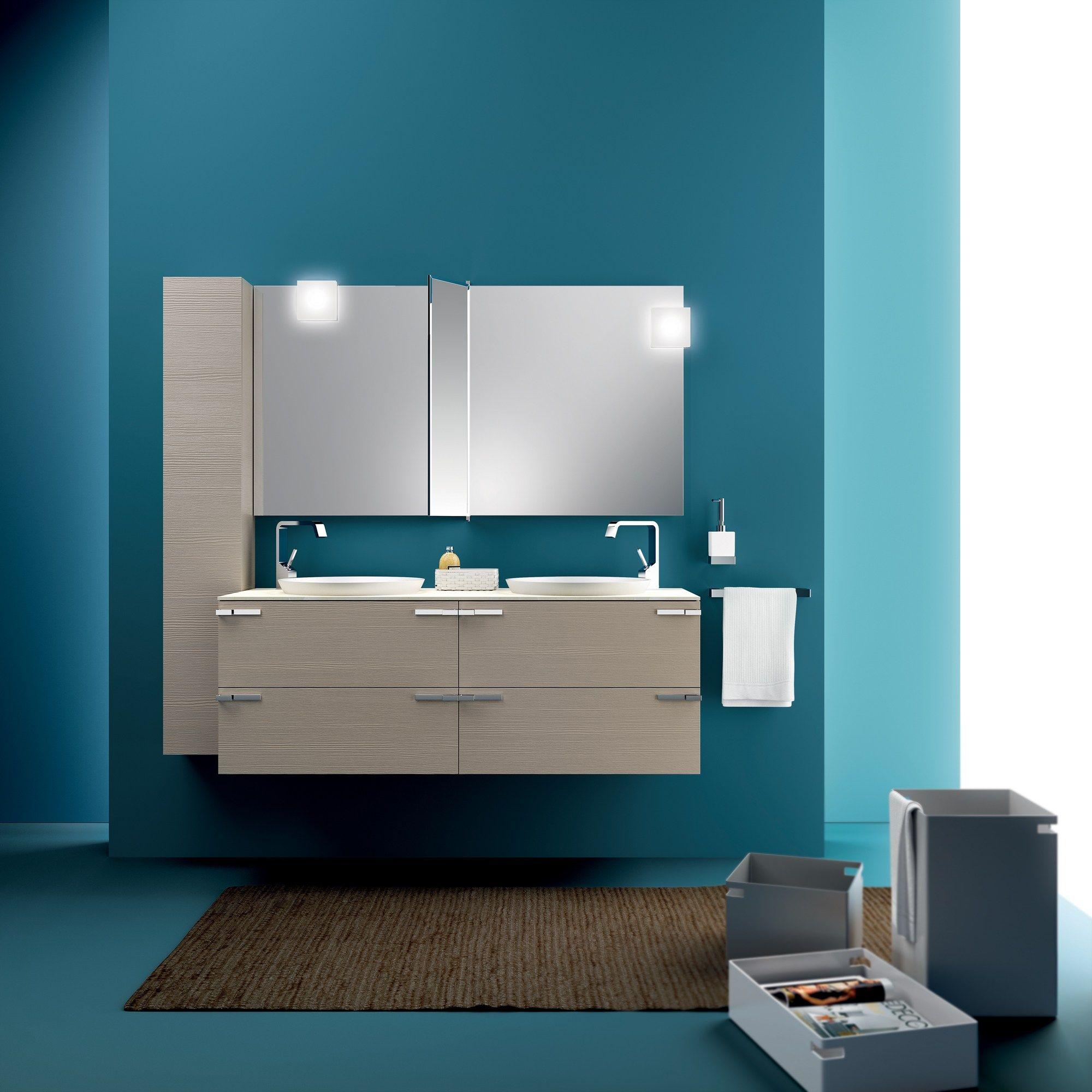 Arredo bagno completo aquo by scavolini bathrooms design for Arredo bagno scavolini