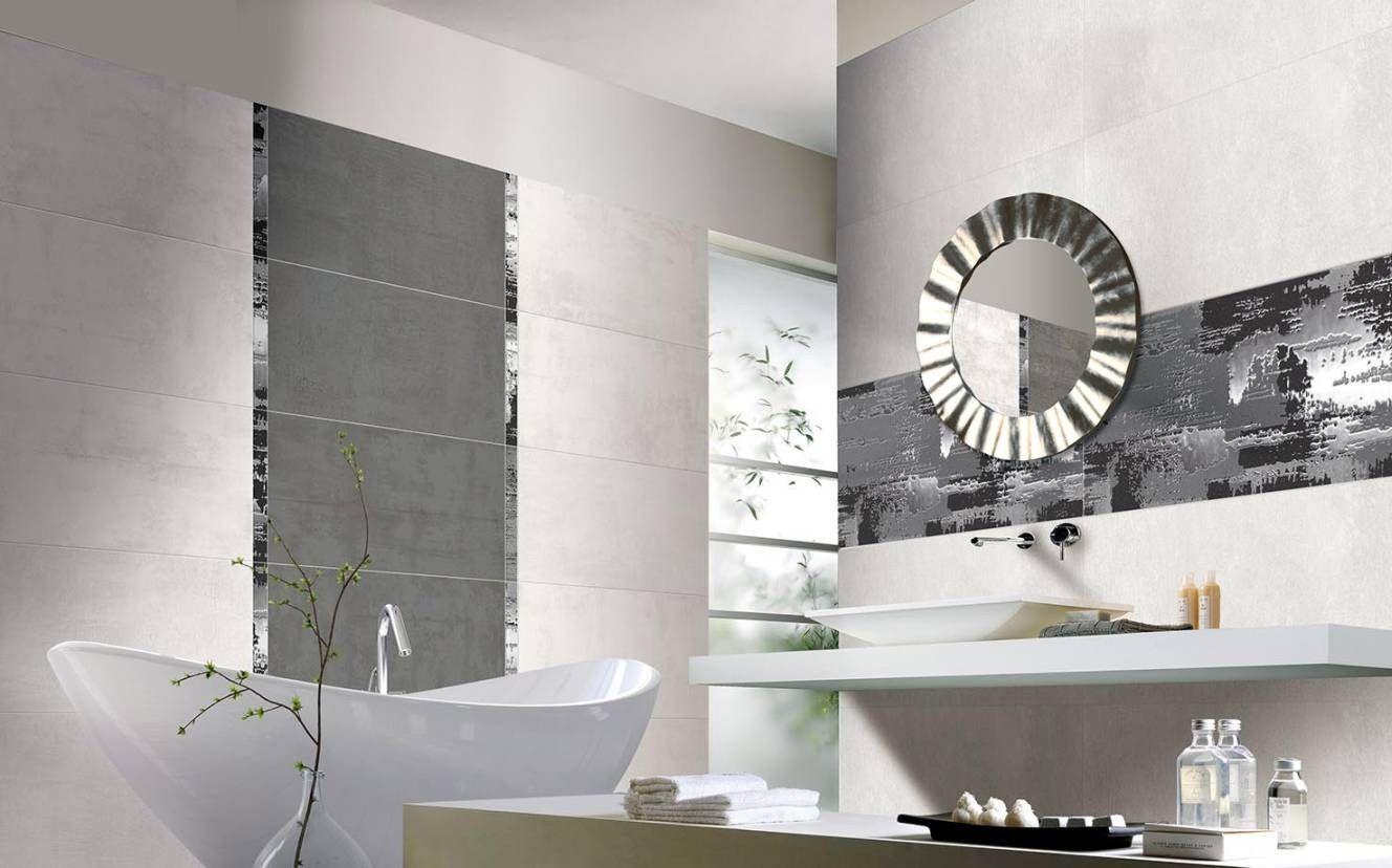 Ceramic wall tiles concrete art by ceramiche brennero for Ceramiche brennero