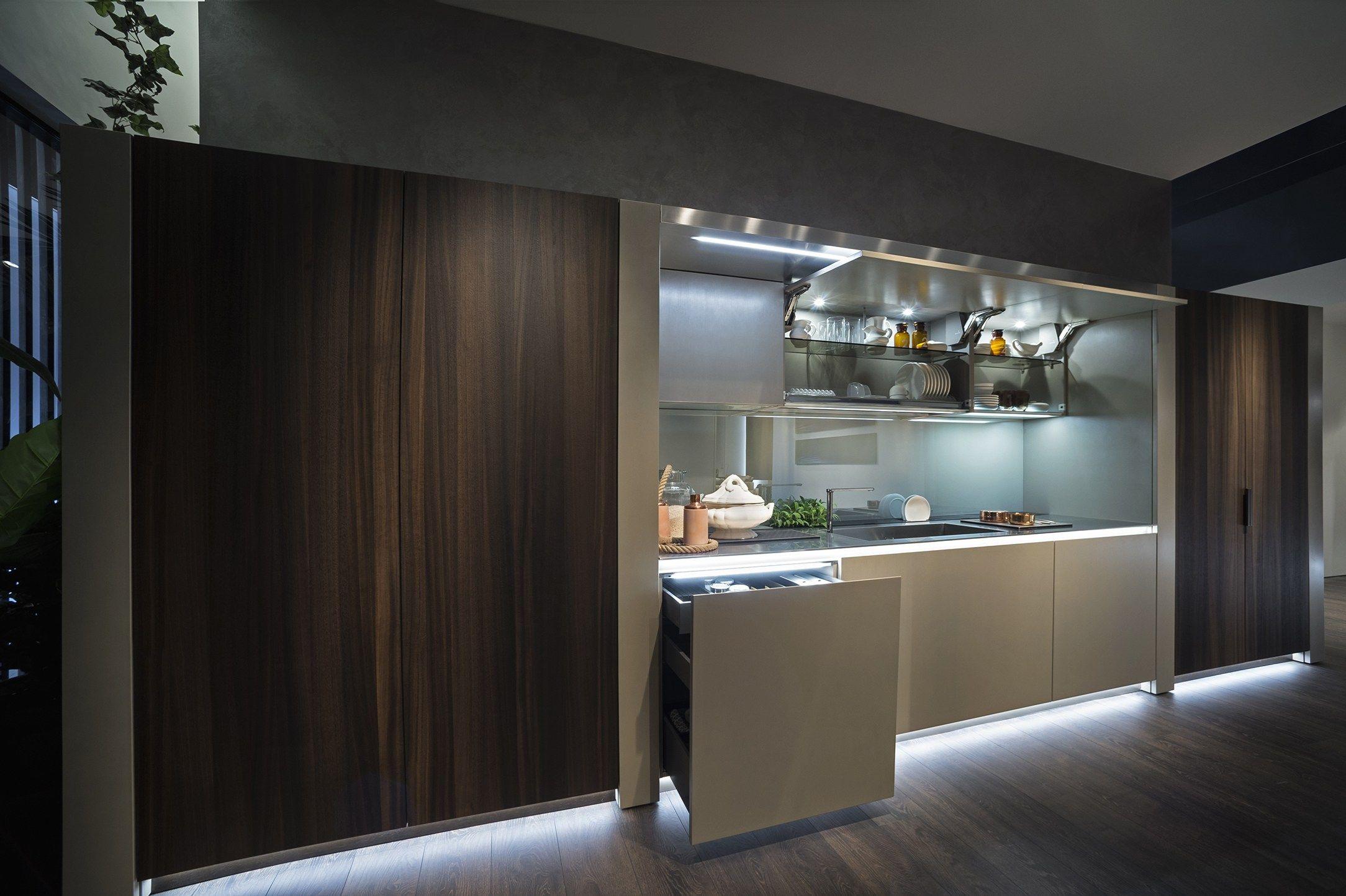 Arte cucina lineare collezione arte by euromobil design marco piva - Euromobil cucine prezzi ...