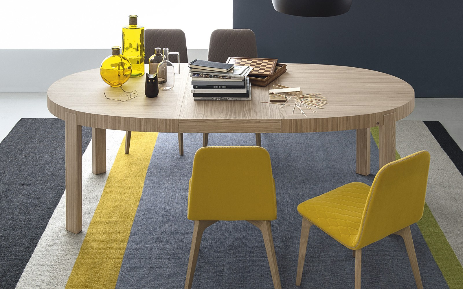 atelier tavolo ovale by calligaris