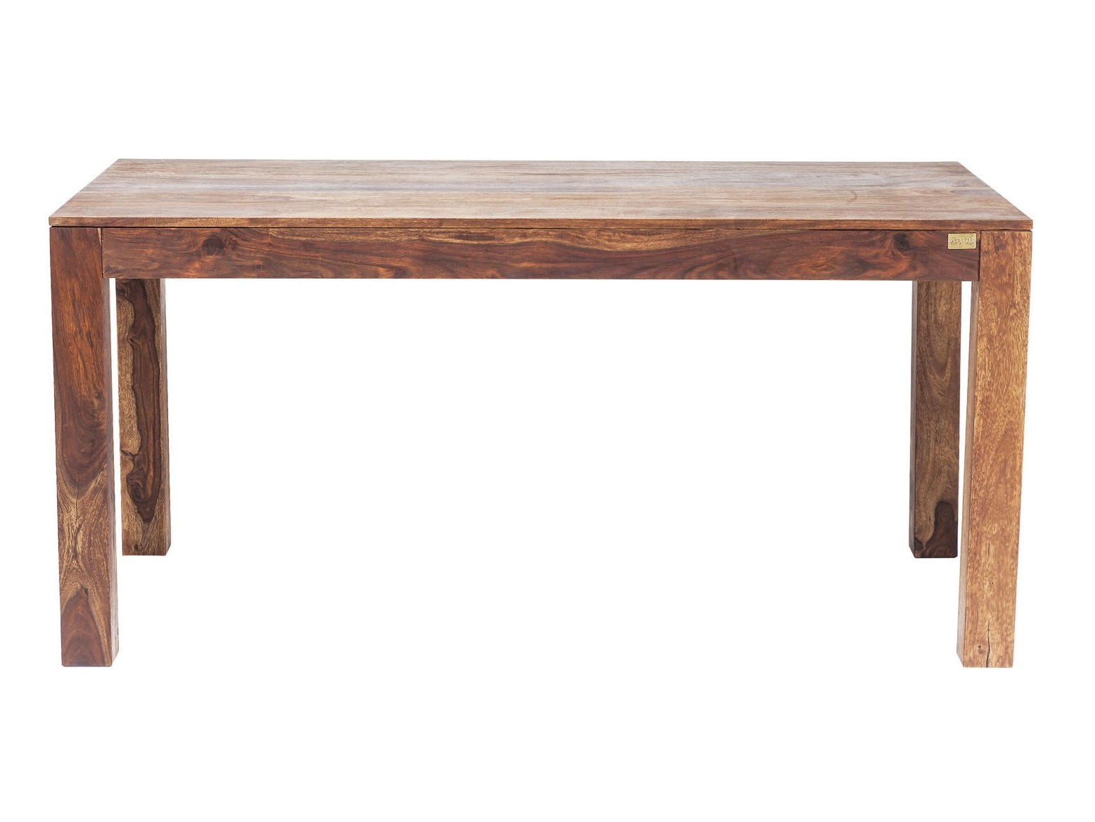 Rectangular wooden dining table authentico by kare design for Wooden dining table designs photos