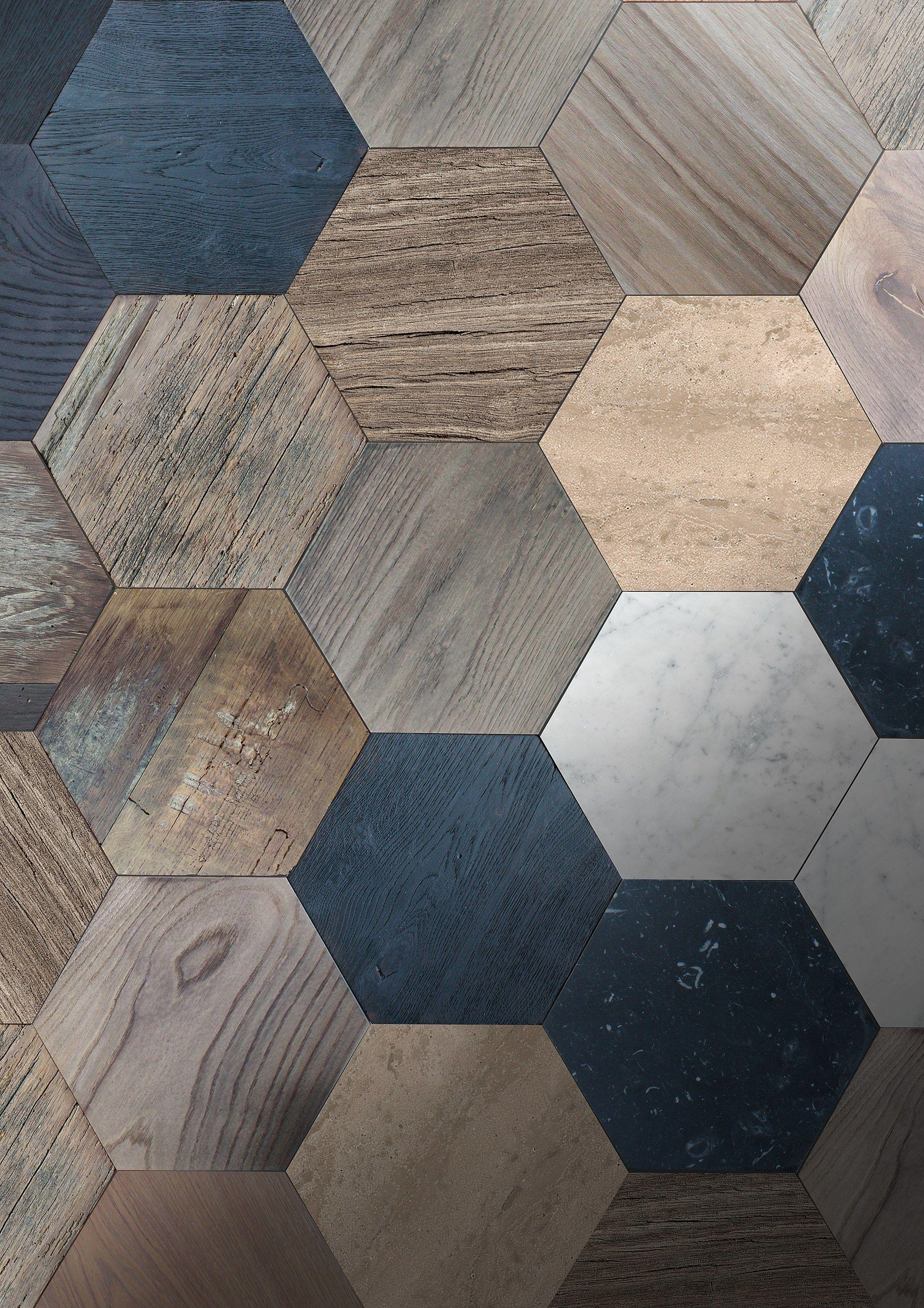 English oak parquet azulejo by idee & parquet