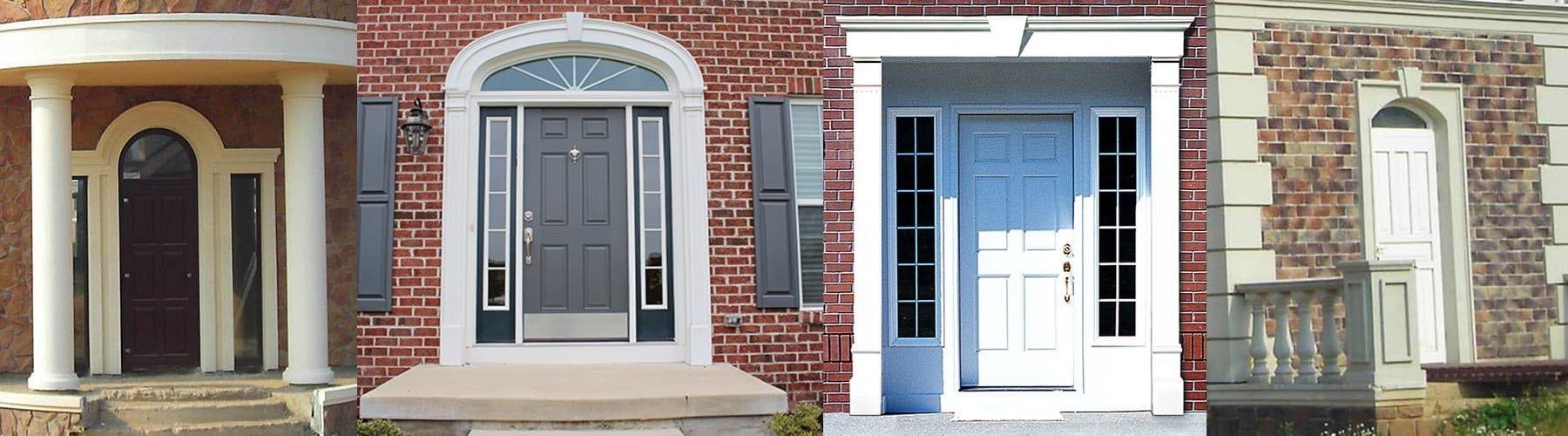 Cornice per porte e portali d 39 ingresso by eleni - Cornici per finestre esterne prezzi ...