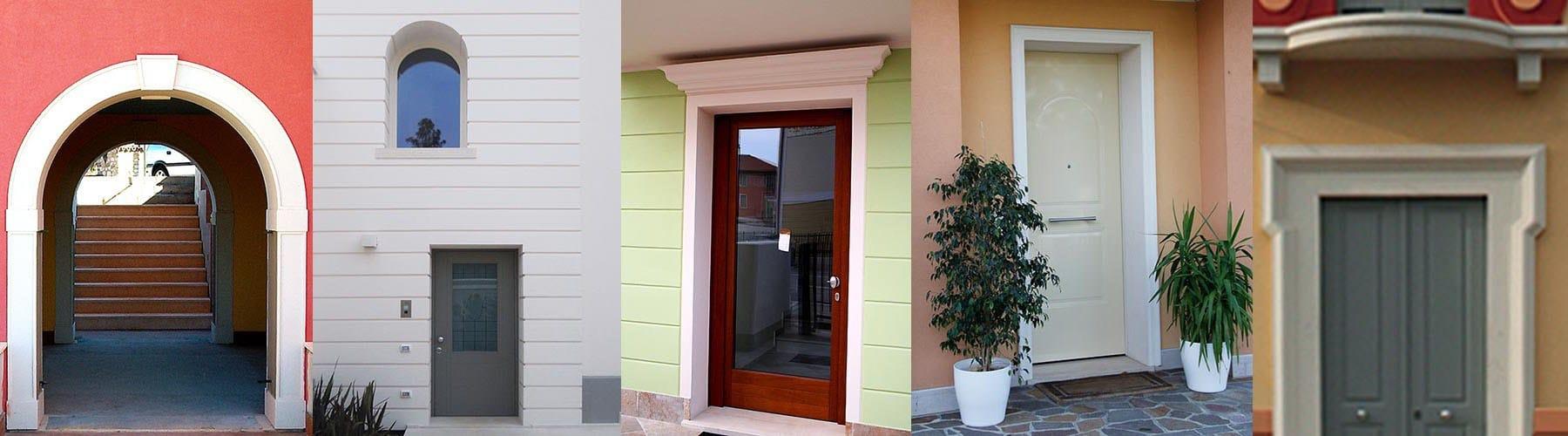 Cornice per porte e portali d 39 ingresso by eleni - Cornicione casa ...