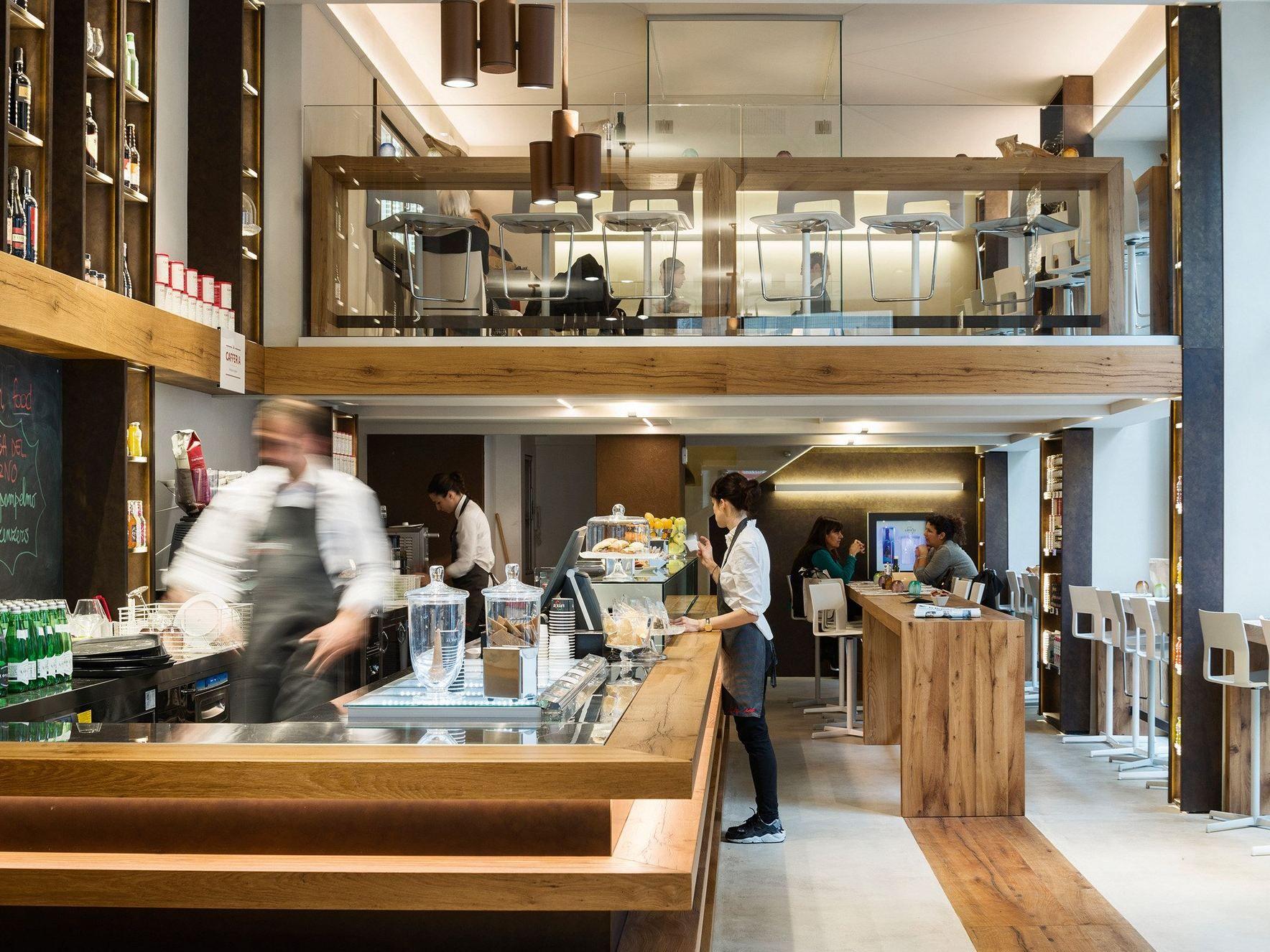 Arredo per negozi by tm italia cucine for Negozi design online