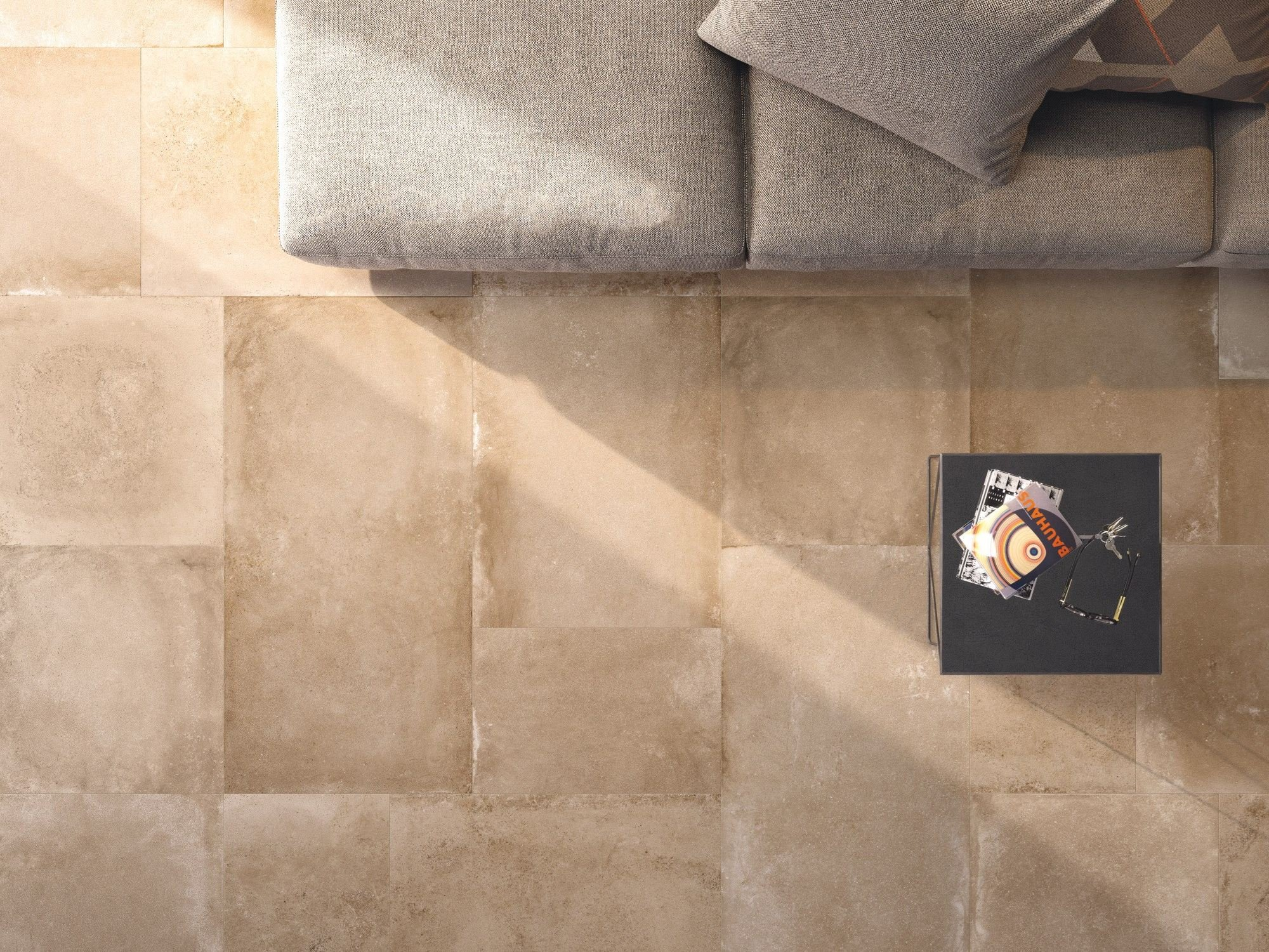 Porcelain stoneware wall floor tiles backstage by flaviker for Carrelage 40x80