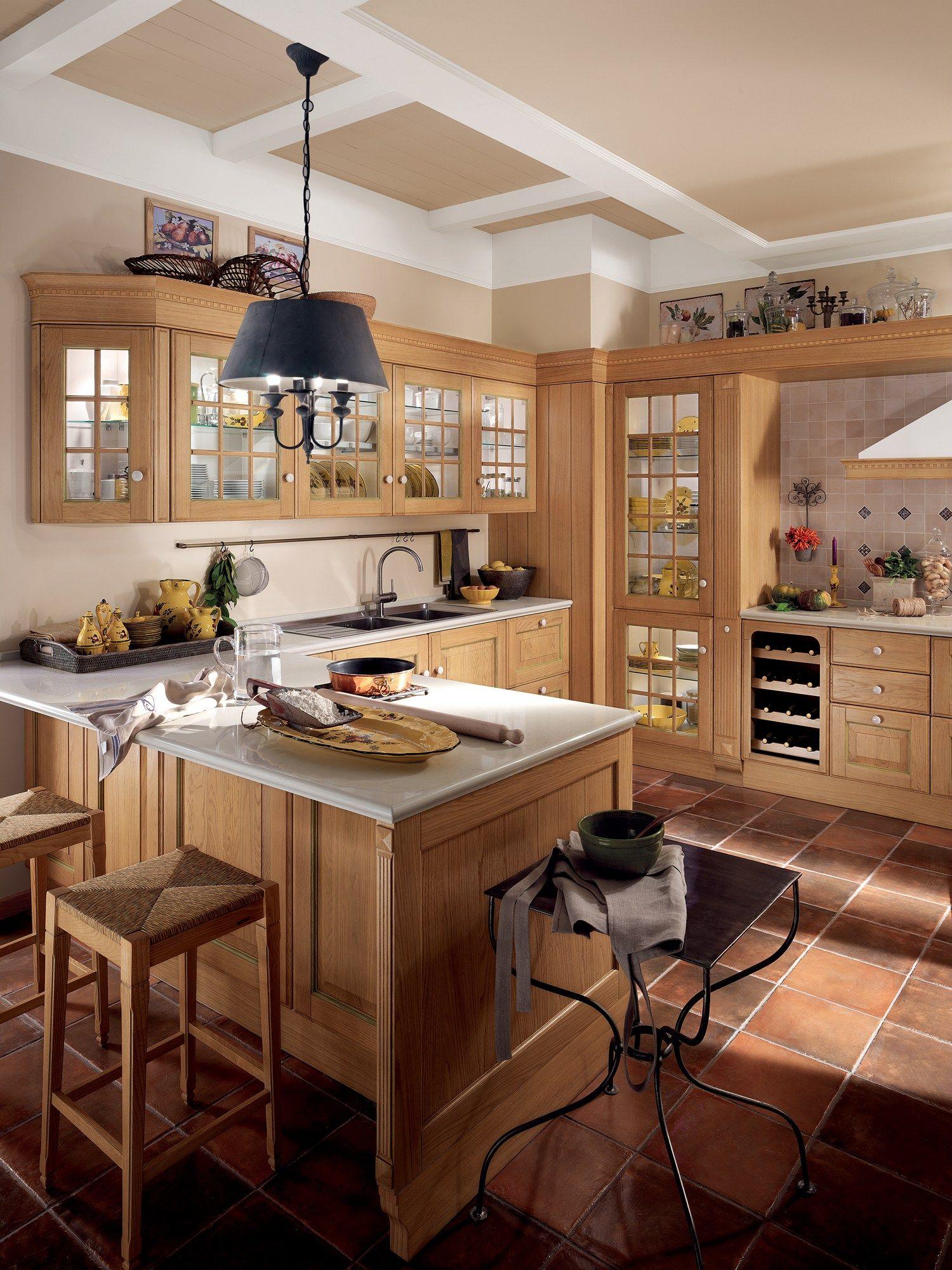 Cucina componibile baltimora linea scavolini by scavolini - Cucina scavolini baltimora ...