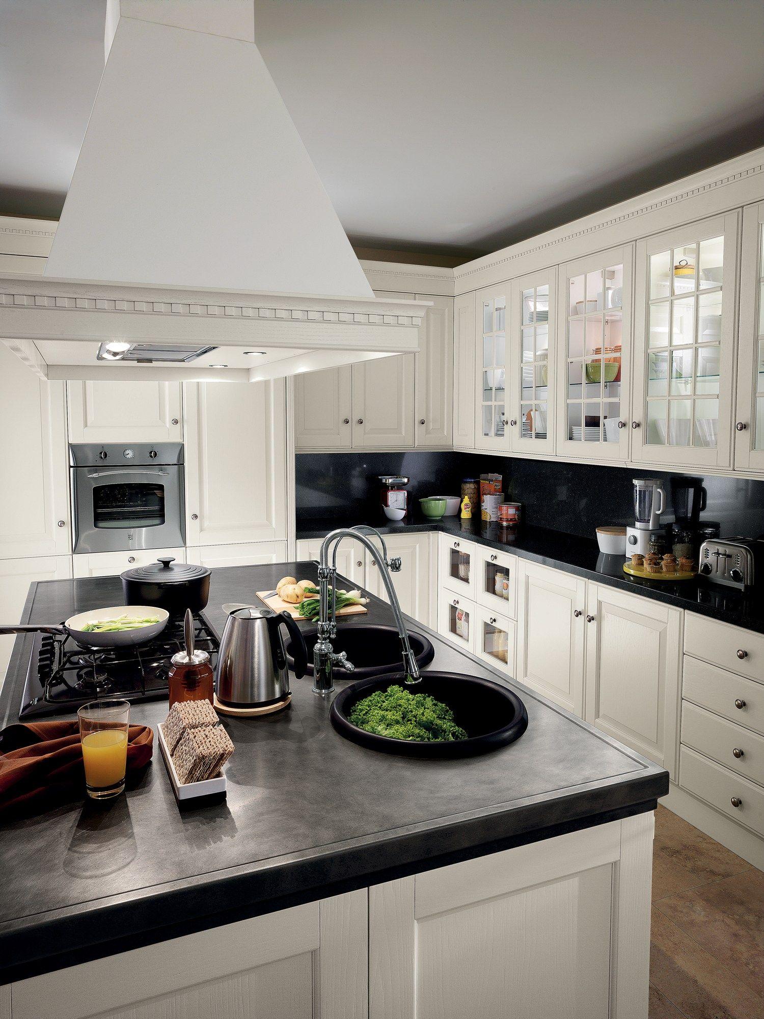 Cucina componibile baltimora linea scavolini by scavolini design vuesse design marco pareschi - Cucina scavolini baltimora ...