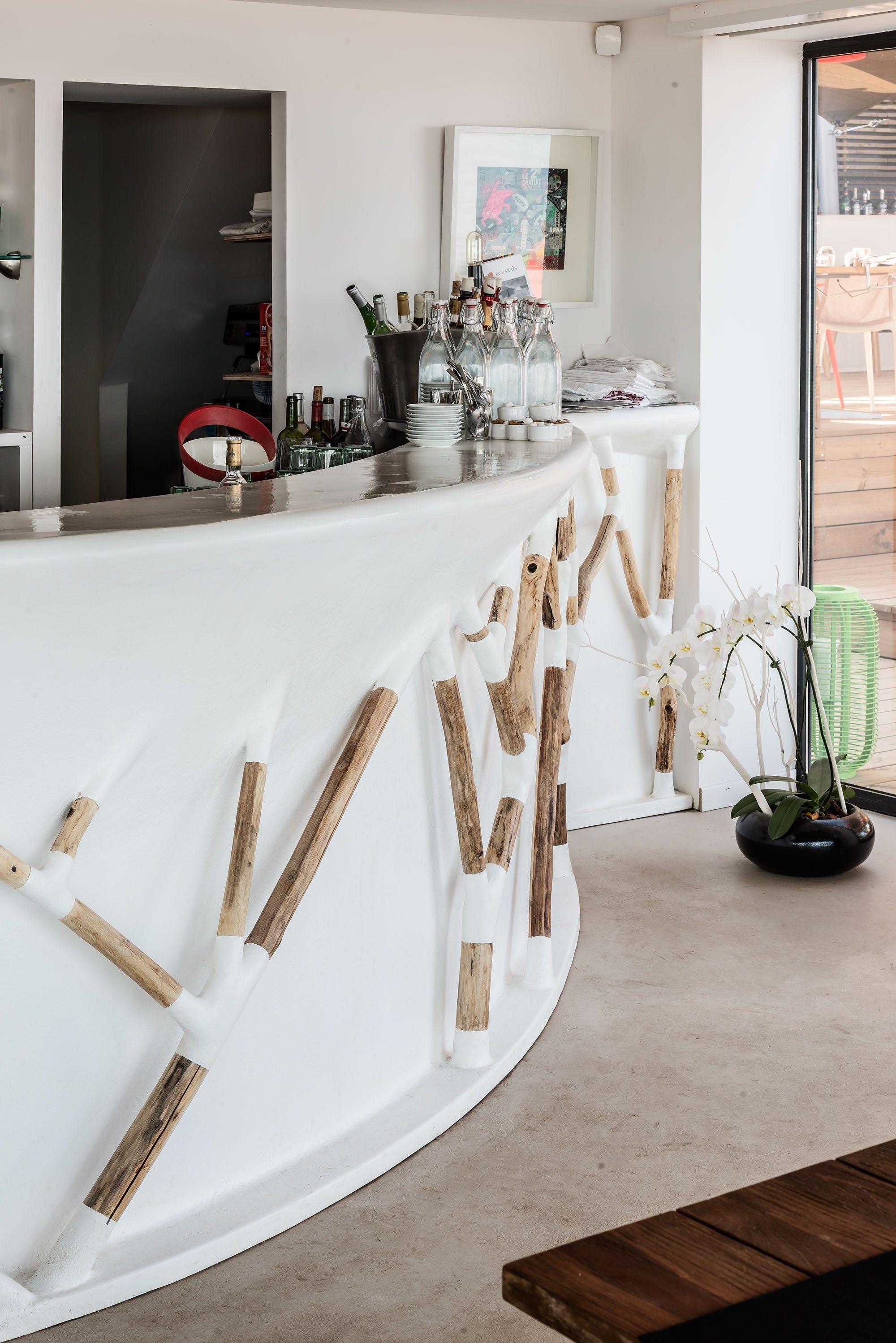 comptoir de bar bar branches by binome design ingrid. Black Bedroom Furniture Sets. Home Design Ideas