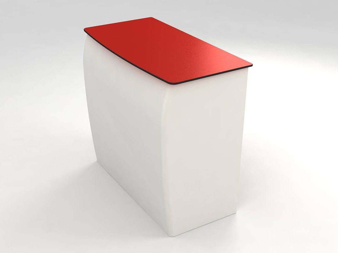 Barra barra de bar de fibra de vidrio by lamalva dise o for Muebles peralta catalogo