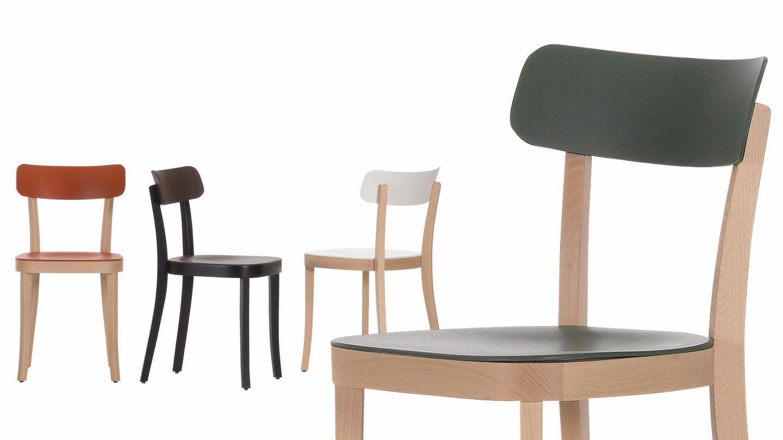 wooden chair basel chair by vitra design jasper morrison. Black Bedroom Furniture Sets. Home Design Ideas