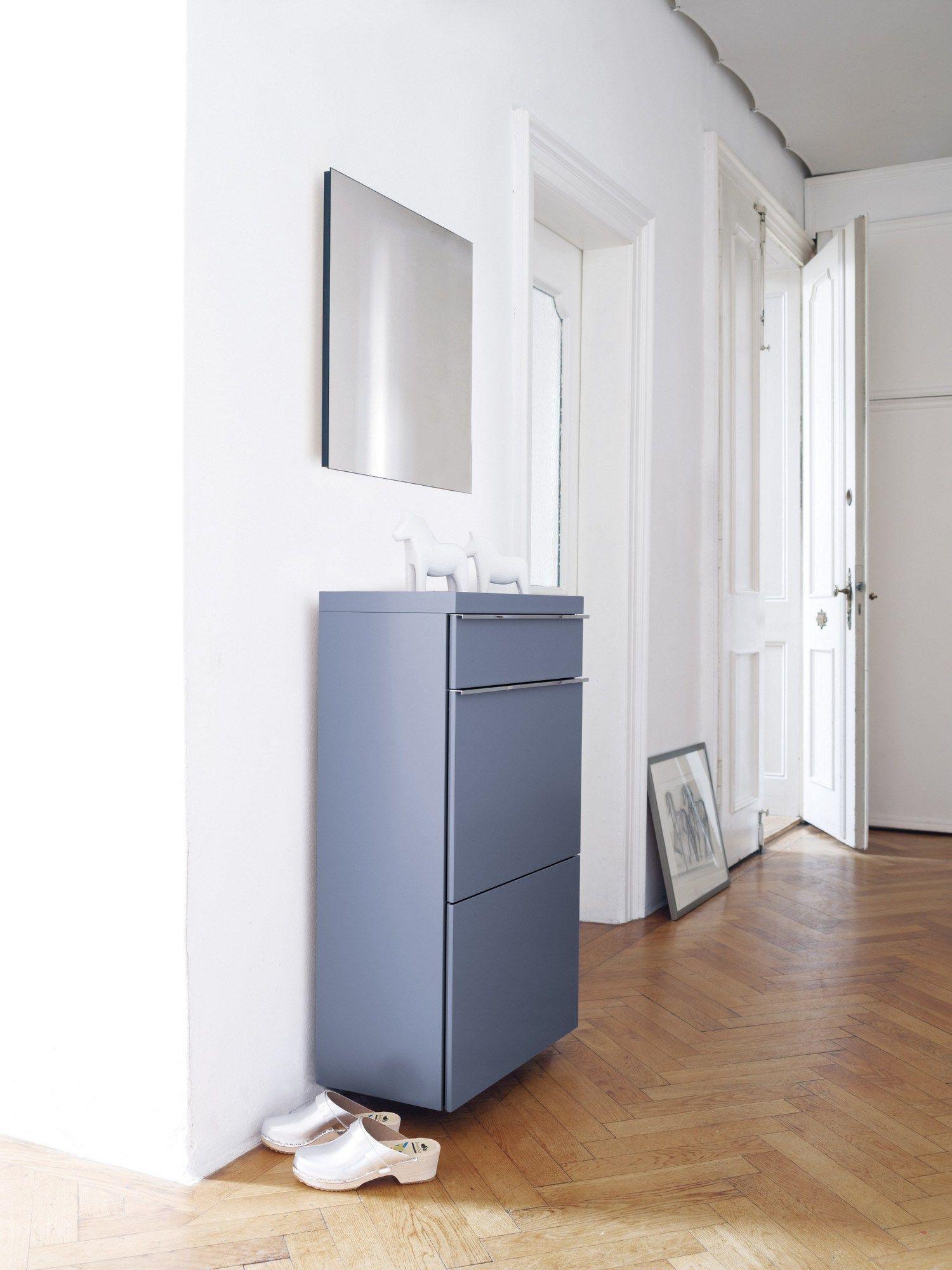 schuhschrank zur wandmontage basic by sch nbuch. Black Bedroom Furniture Sets. Home Design Ideas