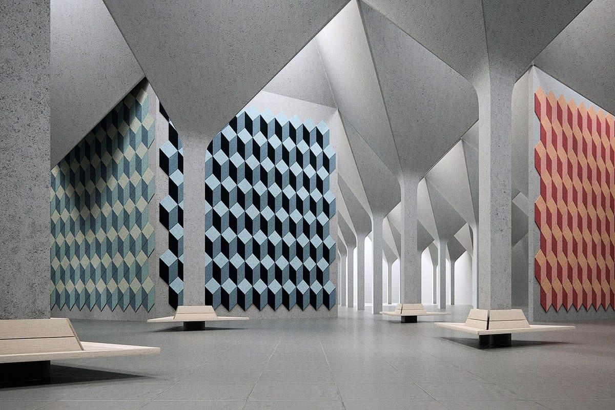 Decorative Acoustical Panel Baux Inspiration By Baux