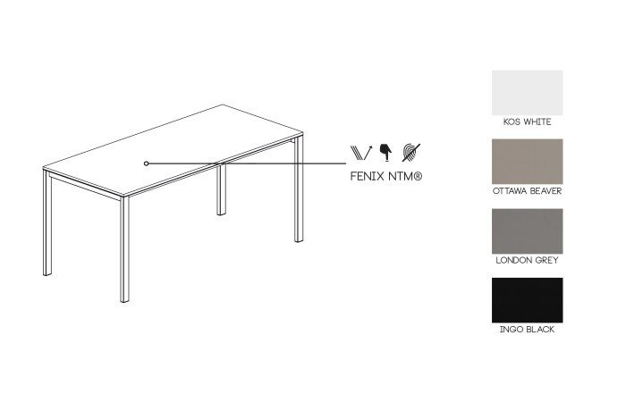Extending fenix ntm table be easy by kristalia for Table extensible kristalia