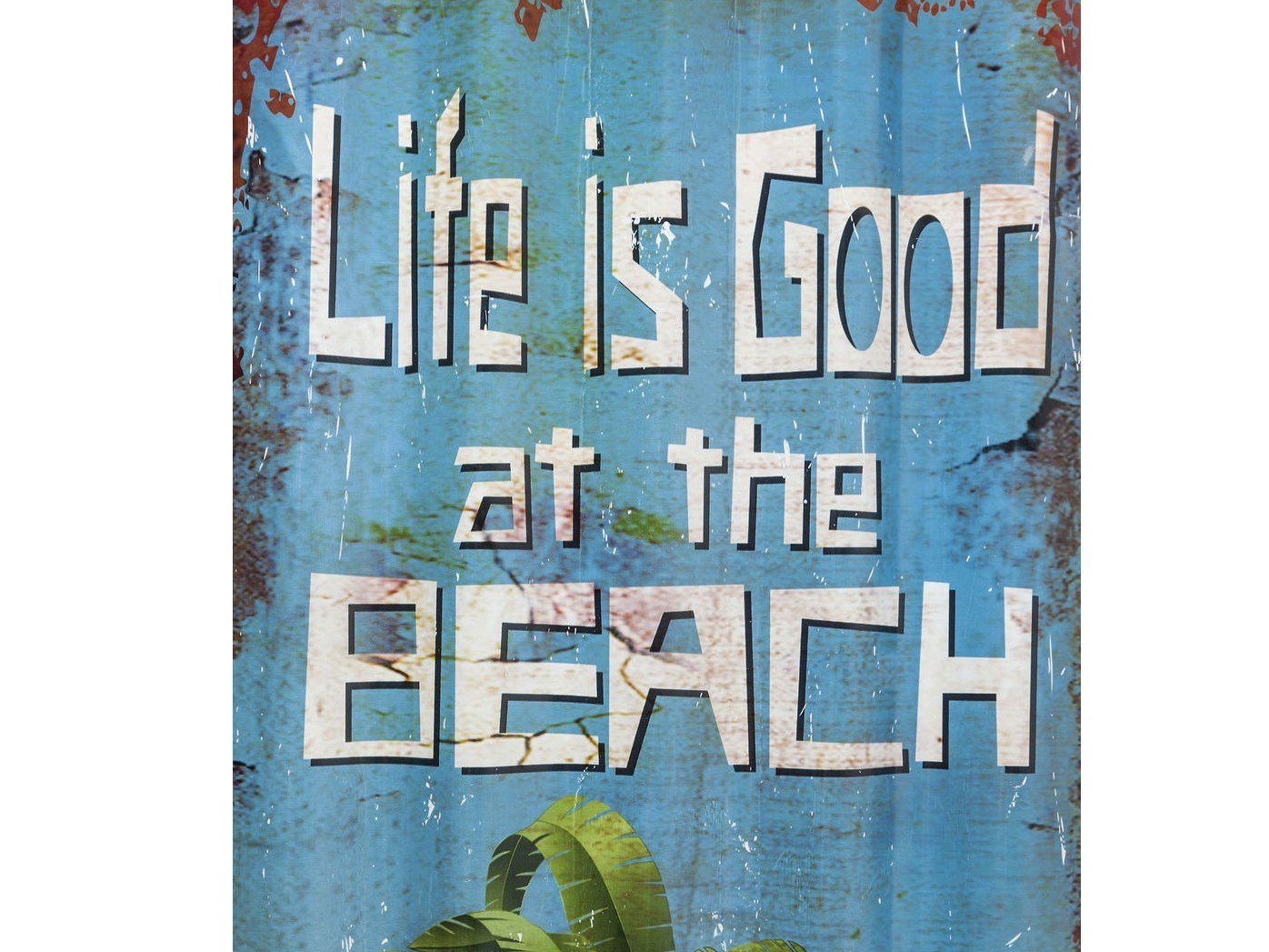 Pannello decorativo in acciaio verniciato a polvere beach - Pannello decorativo design ...