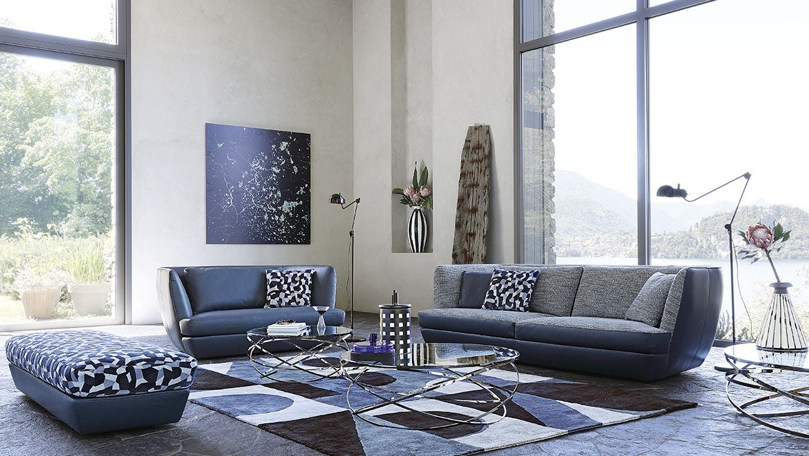 canap 3 places belize by roche bobois design sacha lakic. Black Bedroom Furniture Sets. Home Design Ideas