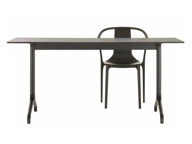 Esstisch aus holz belleville table dining kollektion for Esstisch vitra