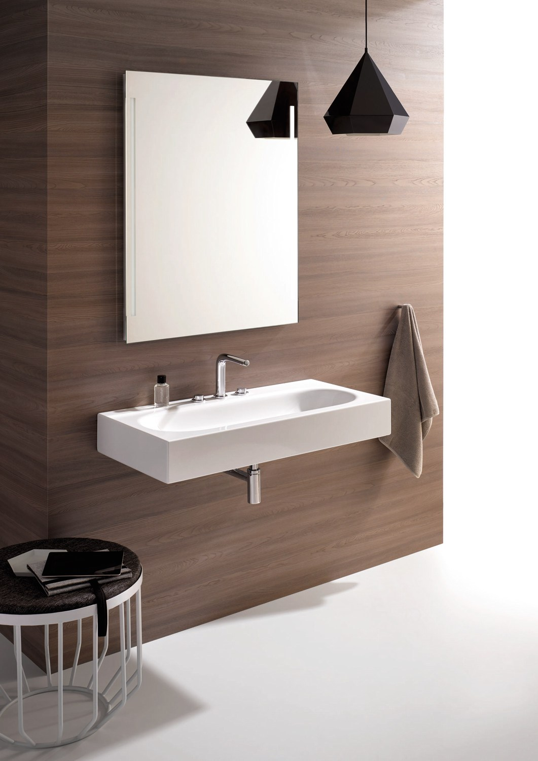bettecomodo lavabo sospeso by bette design tesseraux partner. Black Bedroom Furniture Sets. Home Design Ideas