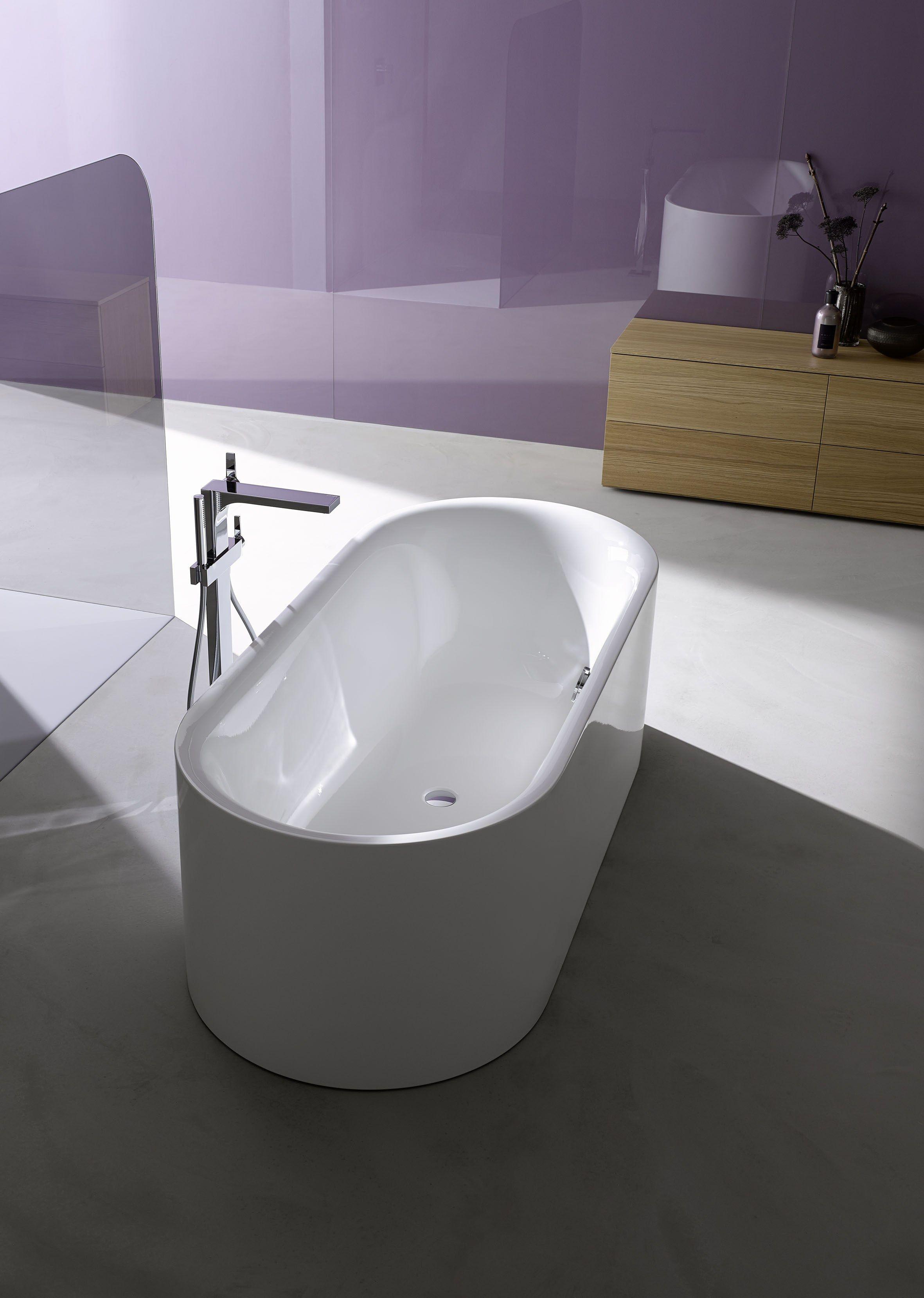 freistehende ovale badewanne bettelux oval silhouette by bette design tesseraux partner. Black Bedroom Furniture Sets. Home Design Ideas