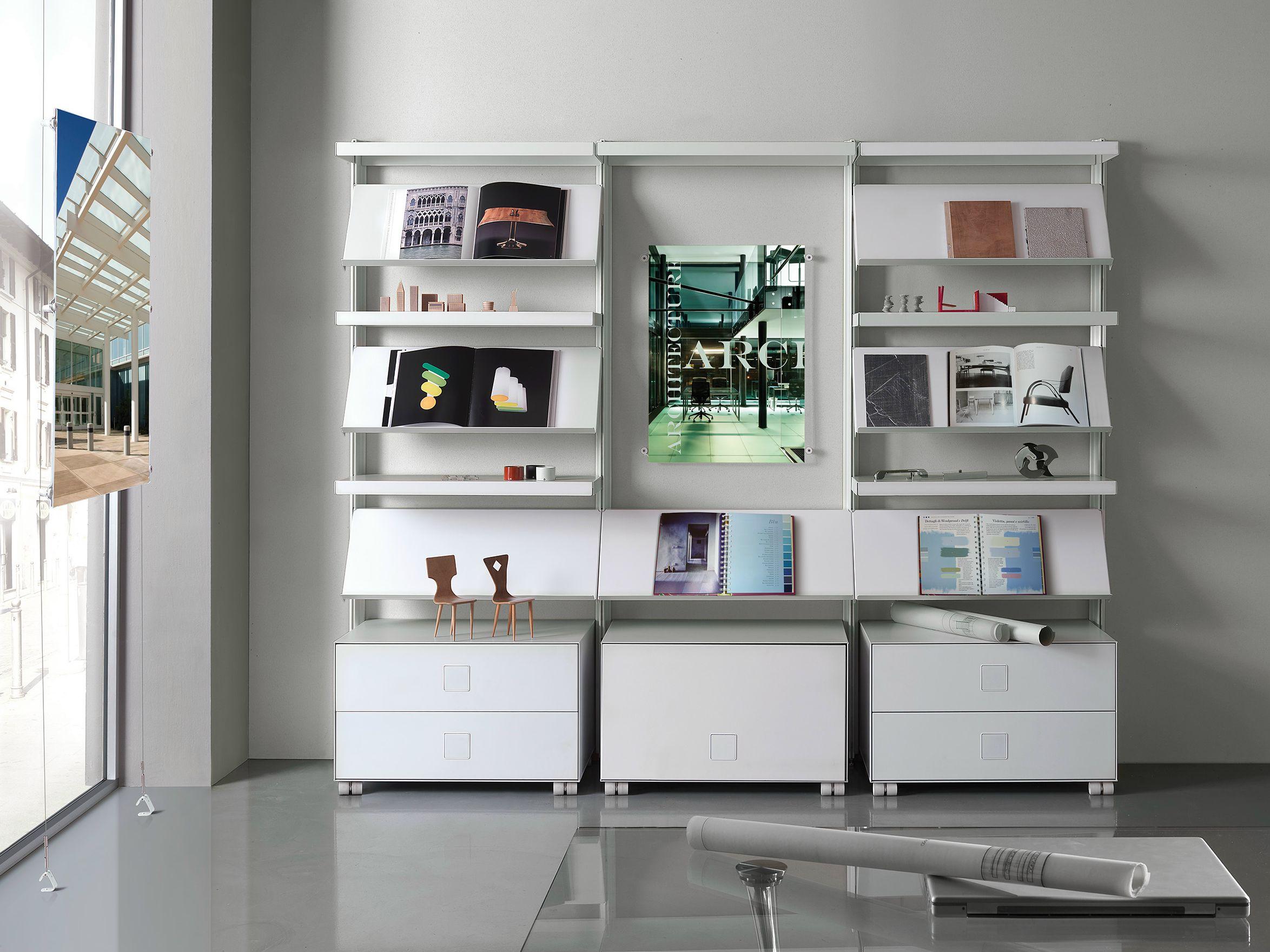 Libreria ufficio big office by caimi brevetti design marc for Libreria ufficio