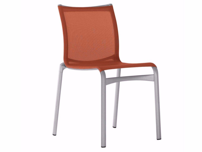 Stapelbarer Stuhl aus Netzstoff BIGFRAME - 441 by Alias Design ...