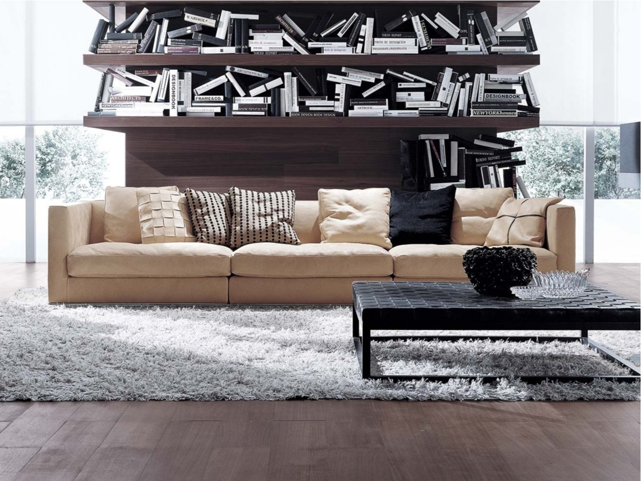 BILBAO Fabric sofa by FRIGERIO POLTRONE E DIVANI