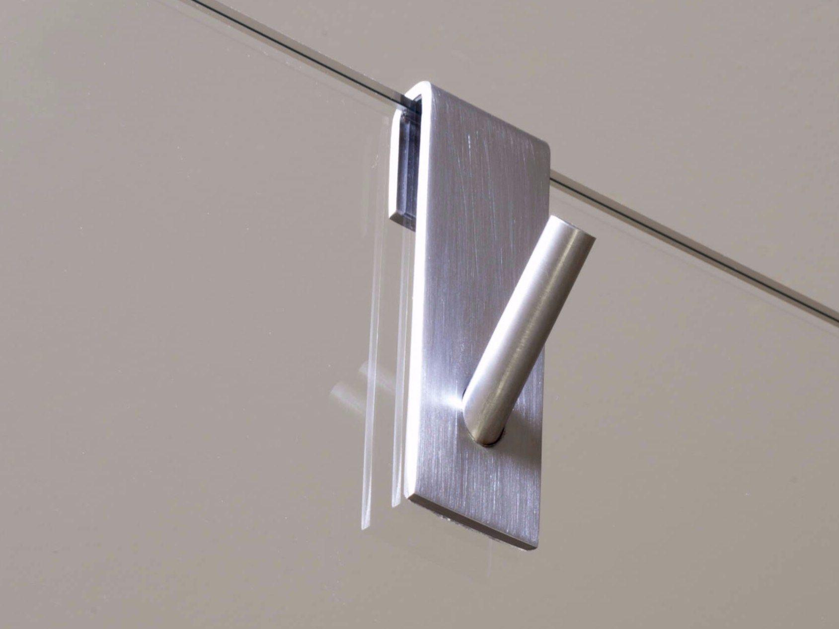 Porta accappatoio porta asciugamani in acciaio inox for Accessori bagno in acciaio
