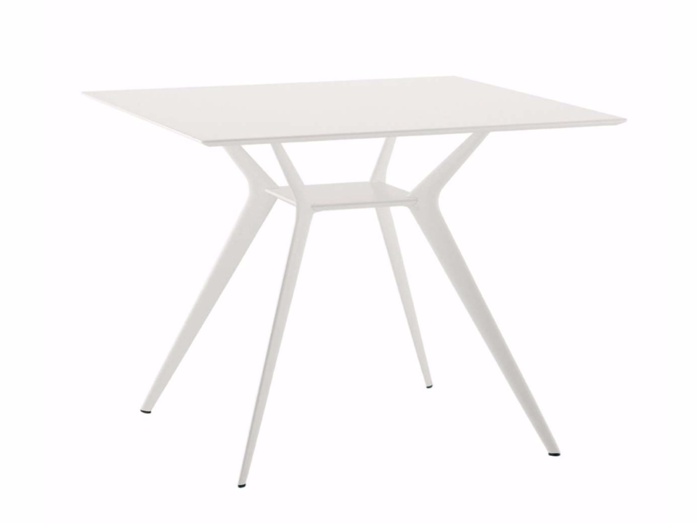 Table carr e biplane 90x90 400 o by alias design alberto for Table 90x90 design