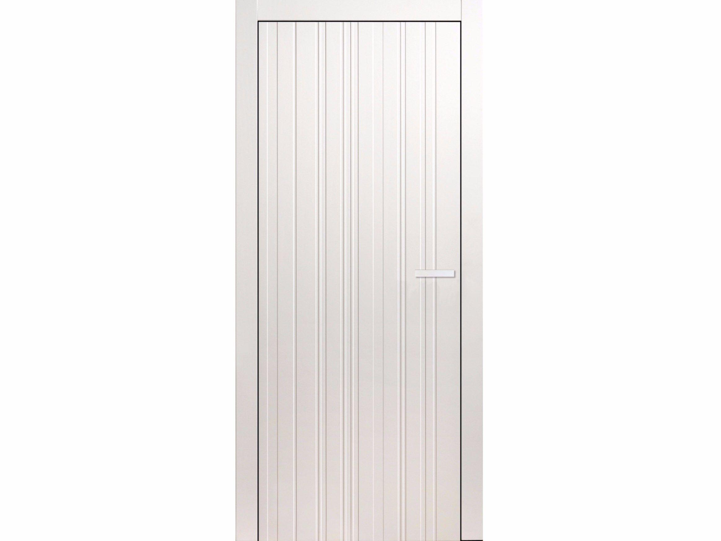 Porta a filo muro laccata in legno blanc ean tb collezione - Porta filo muro prezzi ...