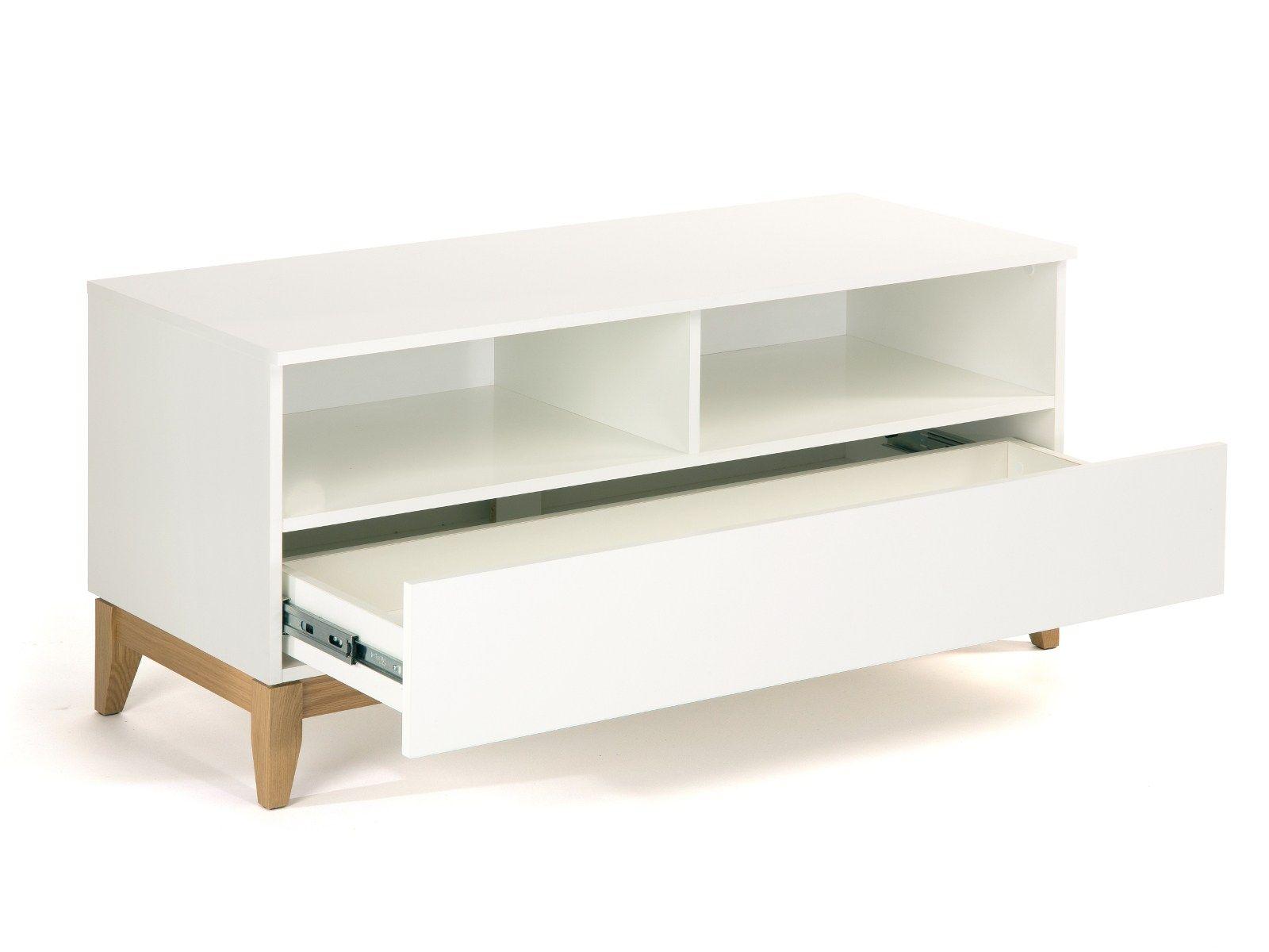Muebles Tv Blancos Mueble Tv Blanco Madera Saln X X Cm Muebles  # Muebles Woodman