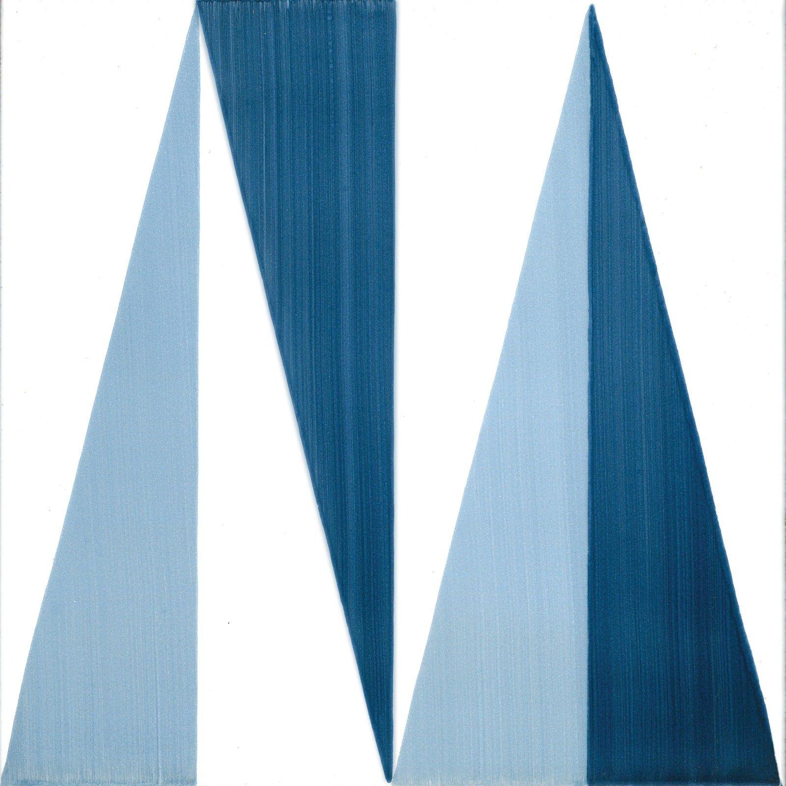 Rivestimento pavimento in ceramica blu ponti by ceramica - Piastrelle gio ponti ...