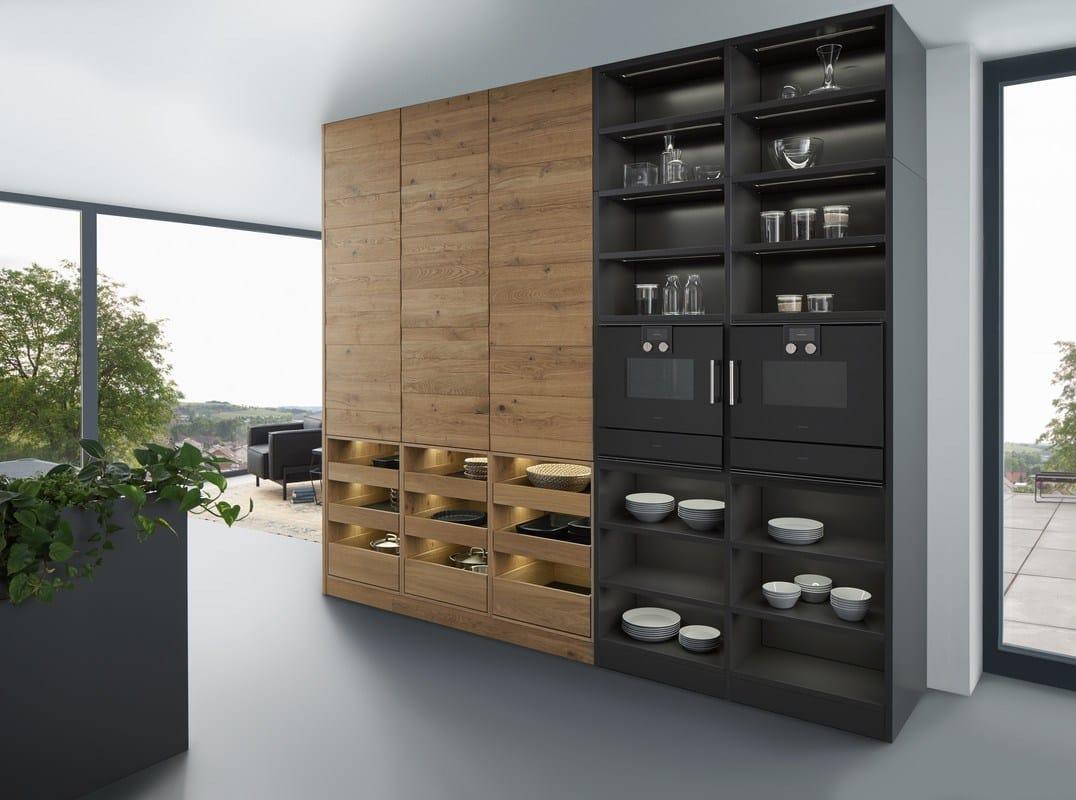 Solid wood kitchen with island BONDI | VALAIS By LEICHT Küchen | {Leicht küchen logo 56}