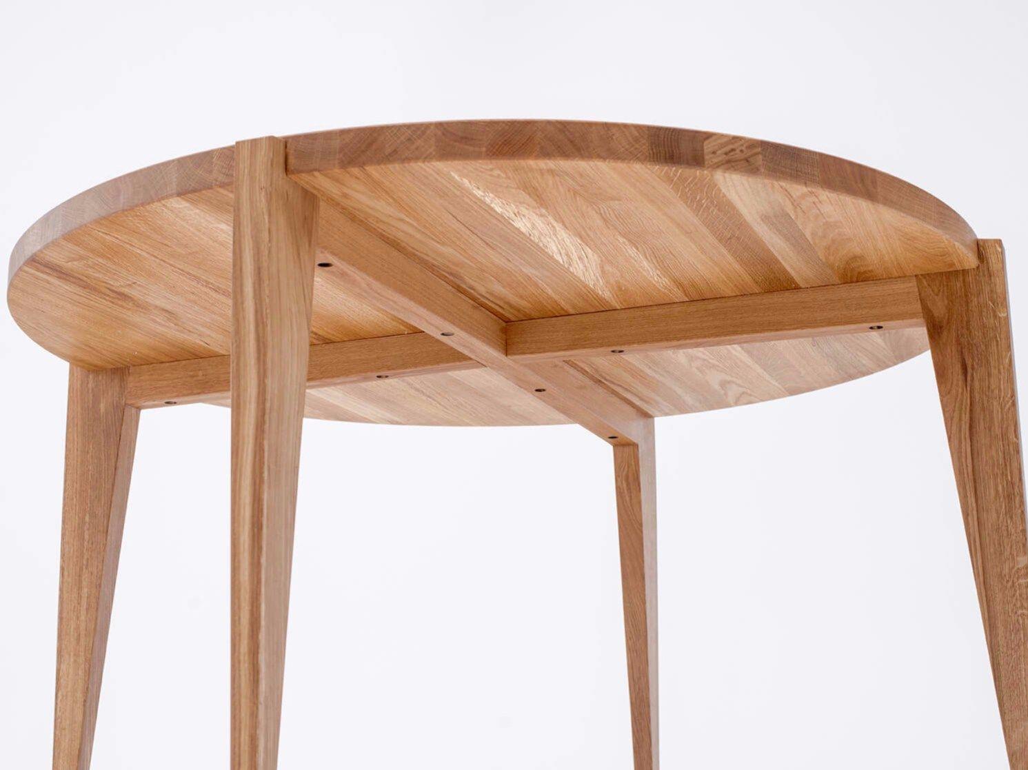 Tavolo da pranzo rotondo in legno massello BONFOR by ST ...