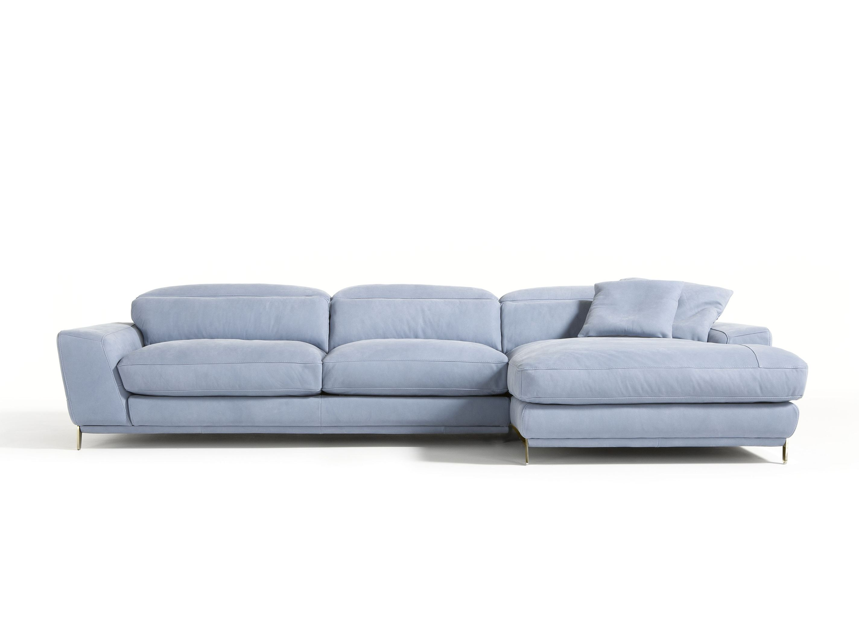 Sofa with chaise longue boomer by egoitaliano for Chaise longue sofa