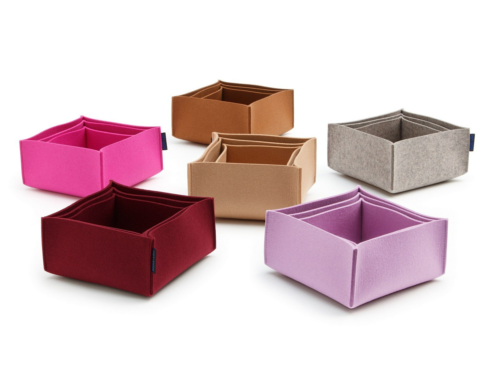 felt storage box box 2 by hey sign. Black Bedroom Furniture Sets. Home Design Ideas