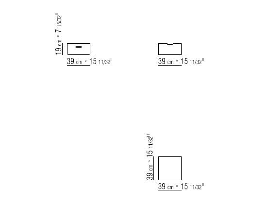 aufbewahrungsbox aus gegerbtem leder box by flexform. Black Bedroom Furniture Sets. Home Design Ideas