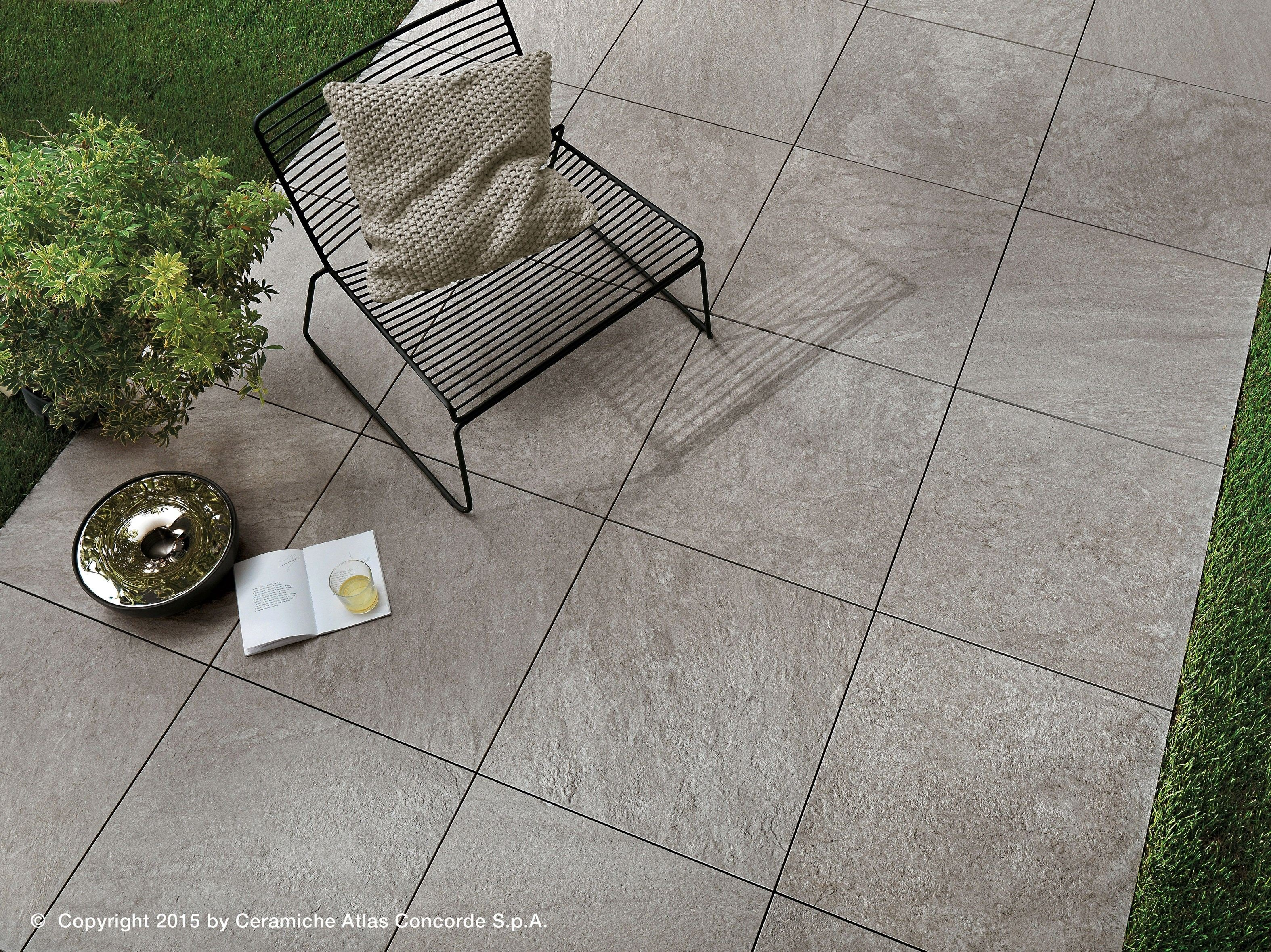 Ceramic outdoor tiles
